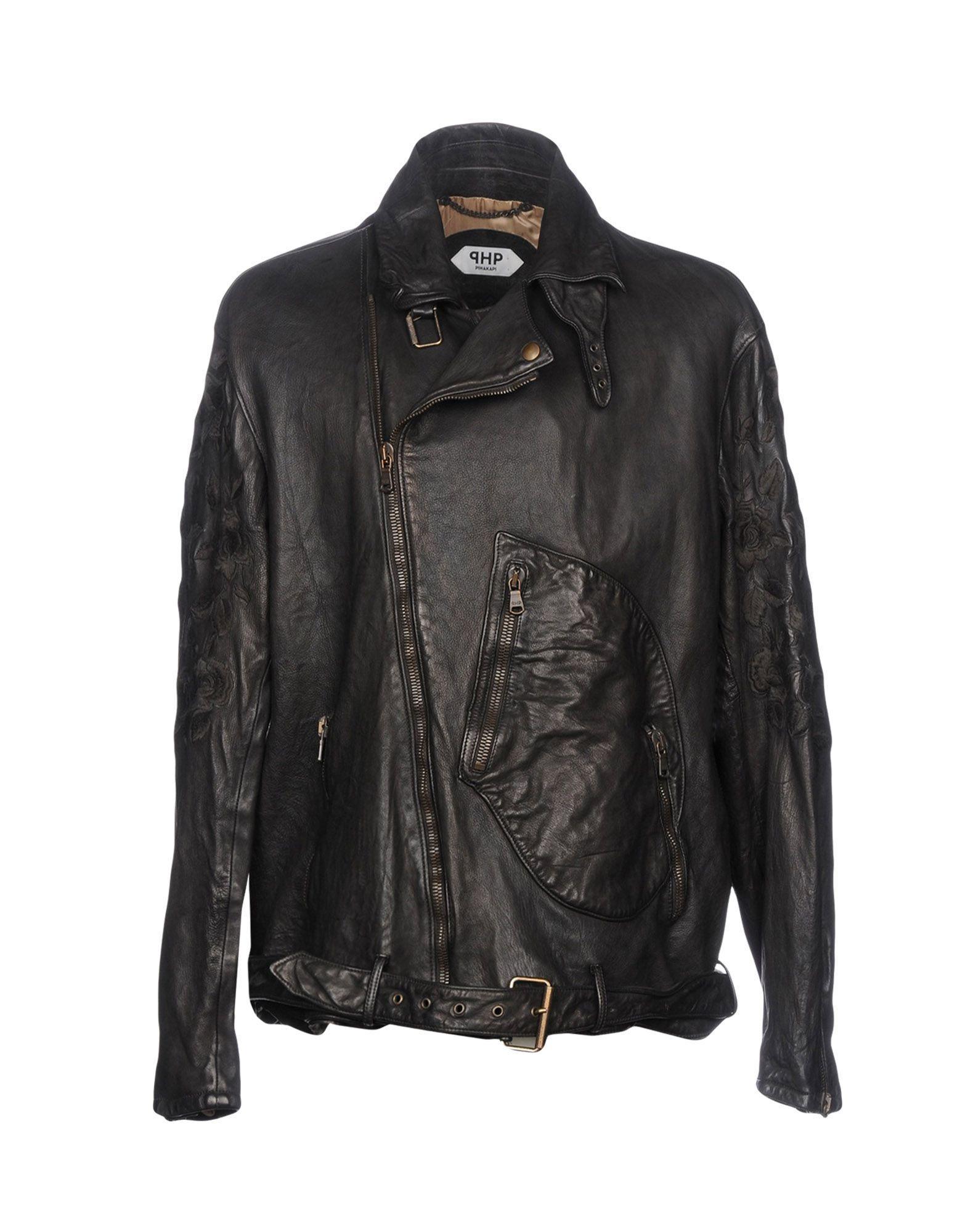 Pihakapi Biker Jacket In Black
