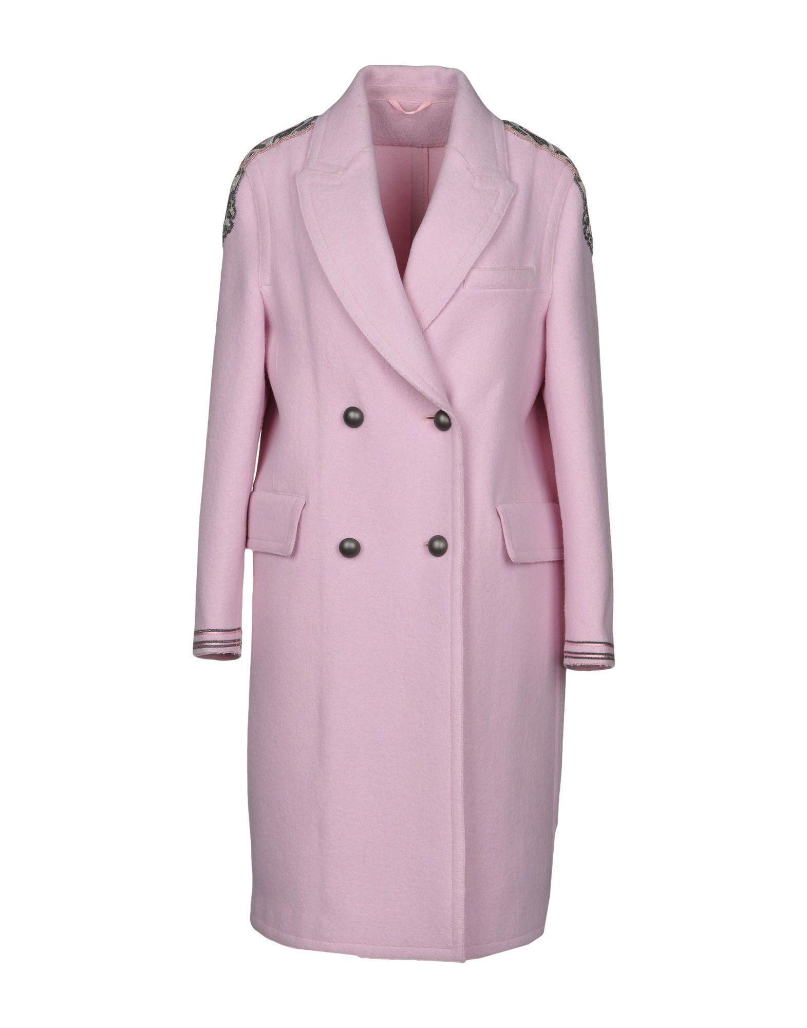 Ermanno Scervino Coats In Pink
