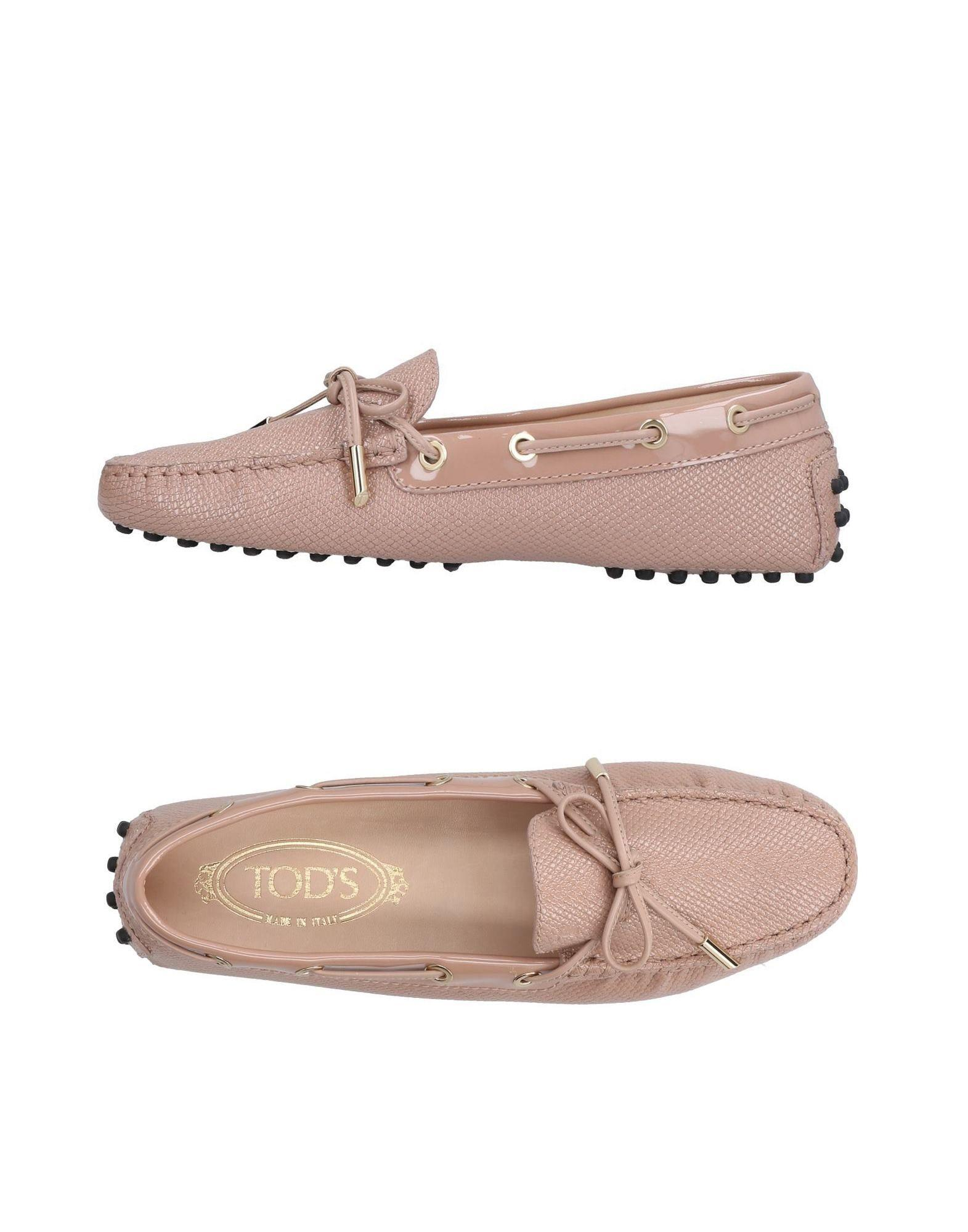 Tod's Loafers In Skin Color