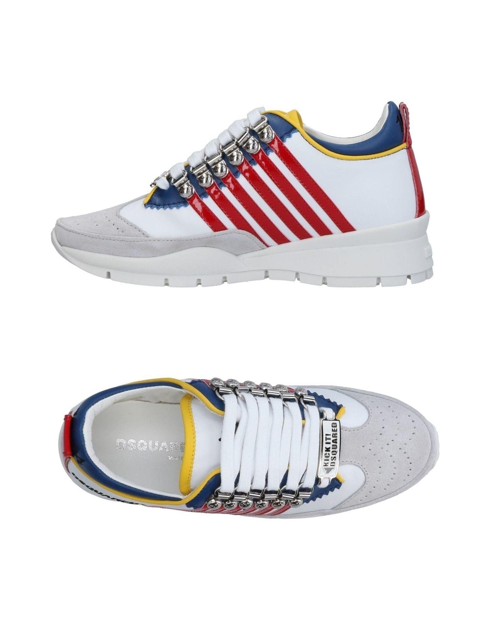 Dsquared2 Sneakers In White