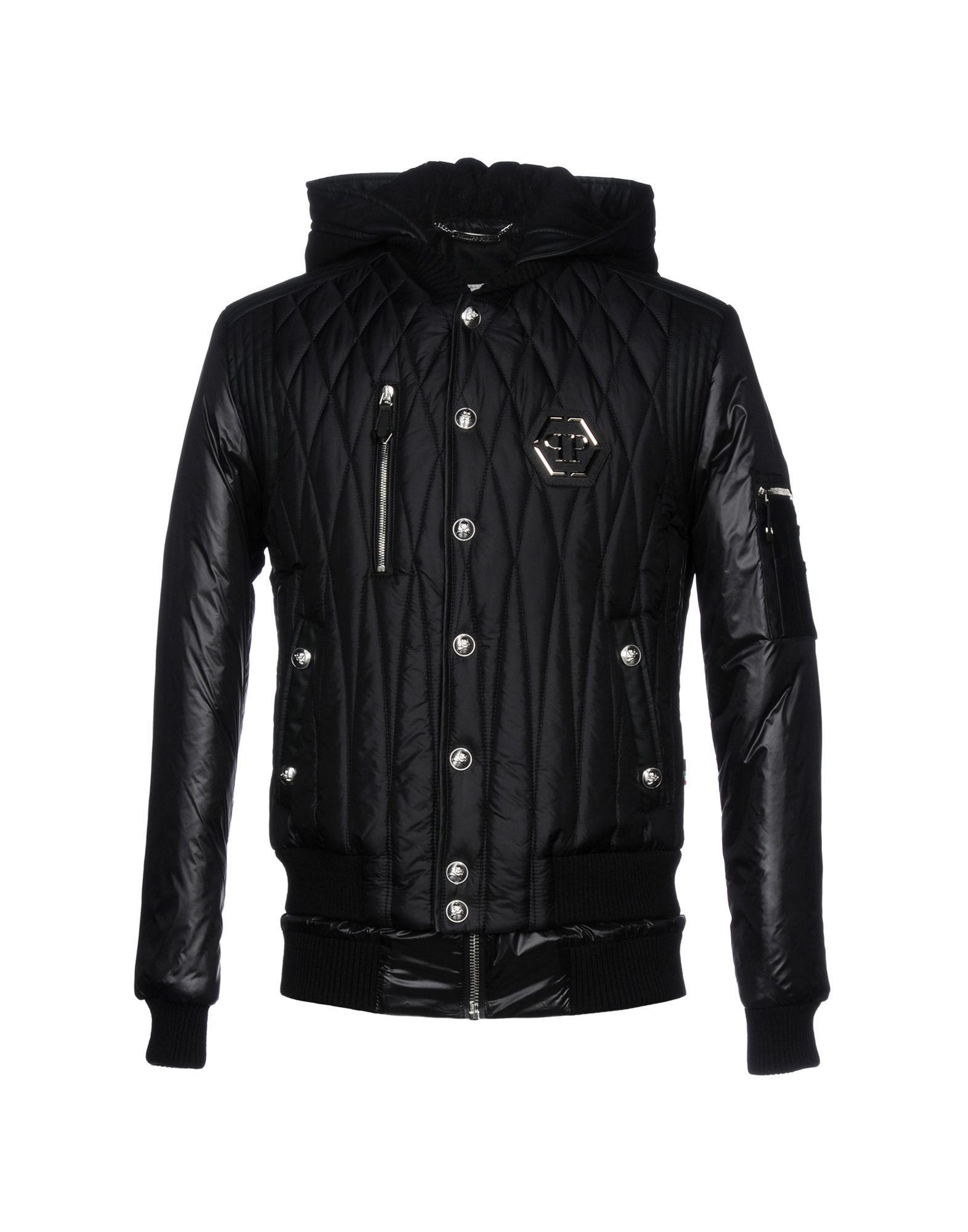 Philipp Plein Jackets In Black