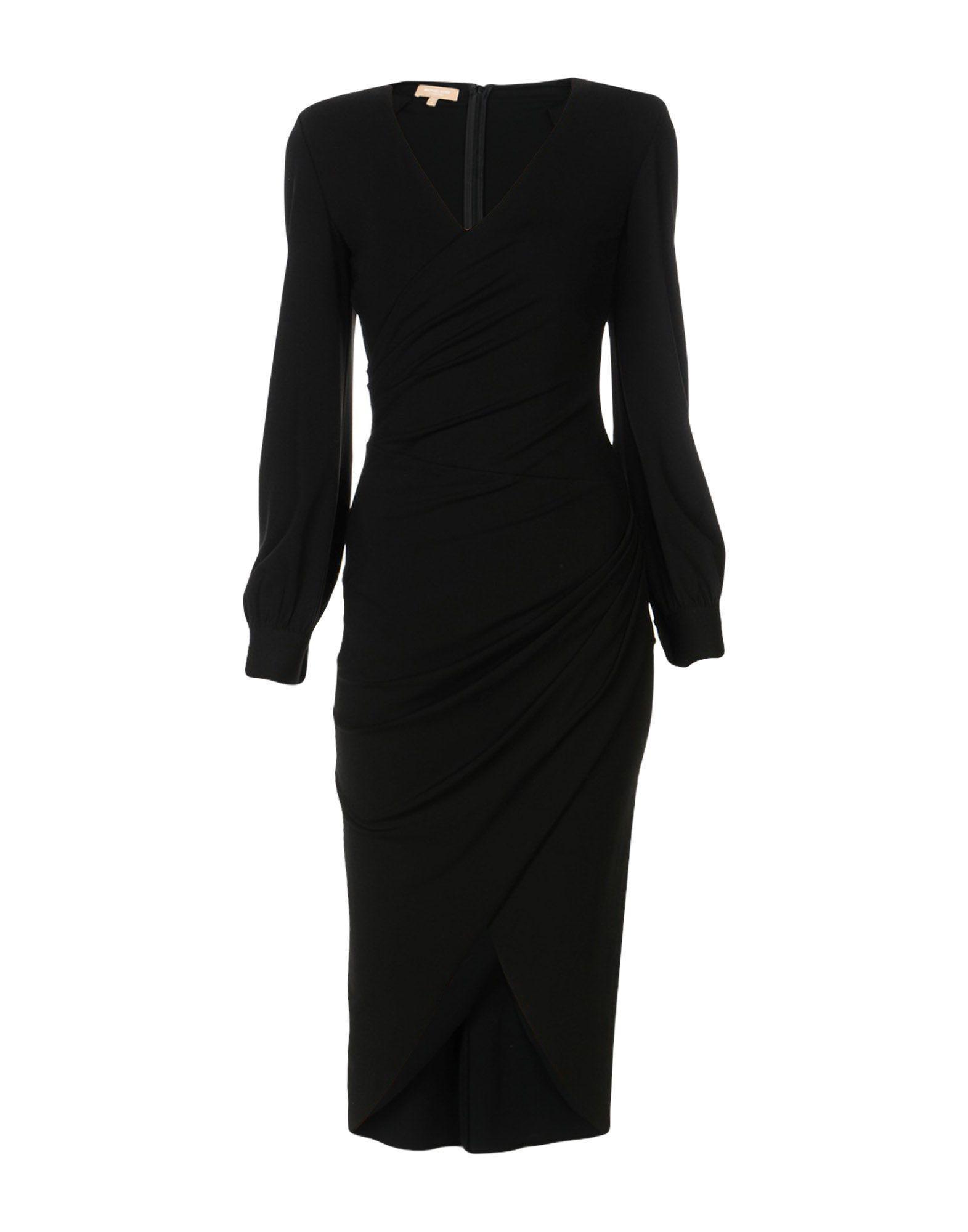Michael Kors Knee-Length Dress In Black