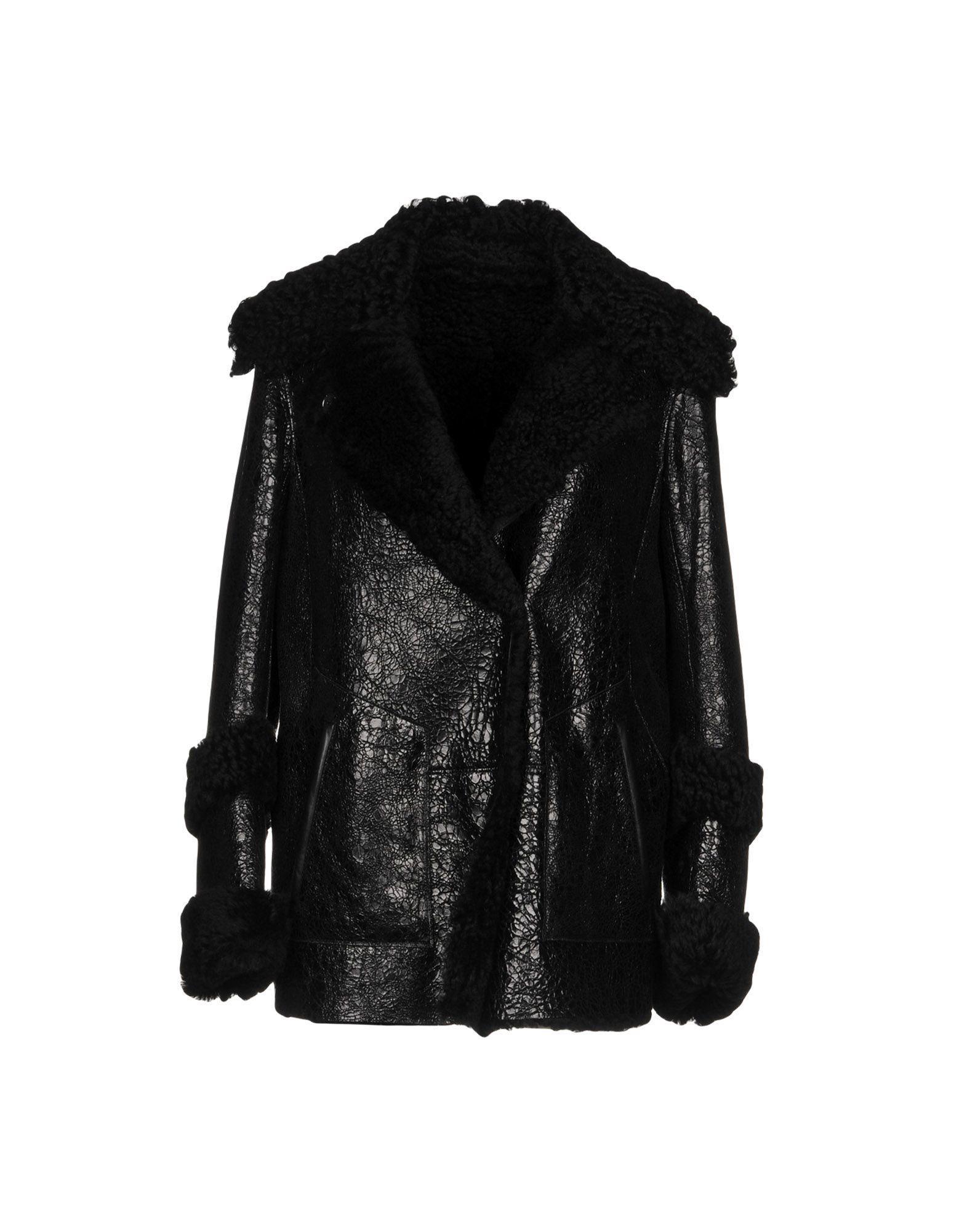 Sylvie Schimmel Coats In Black