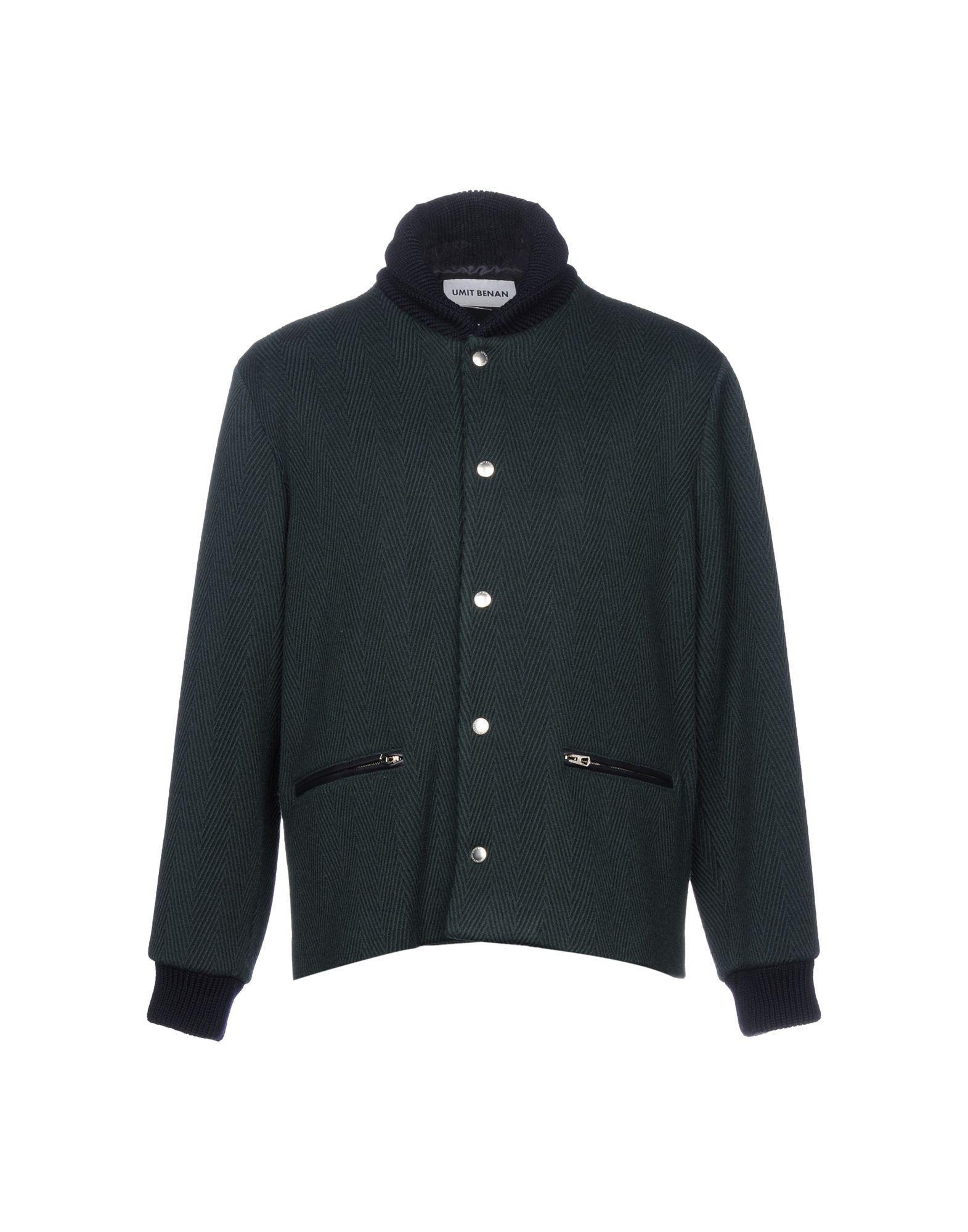 Umit Benan Jackets In Dark Green