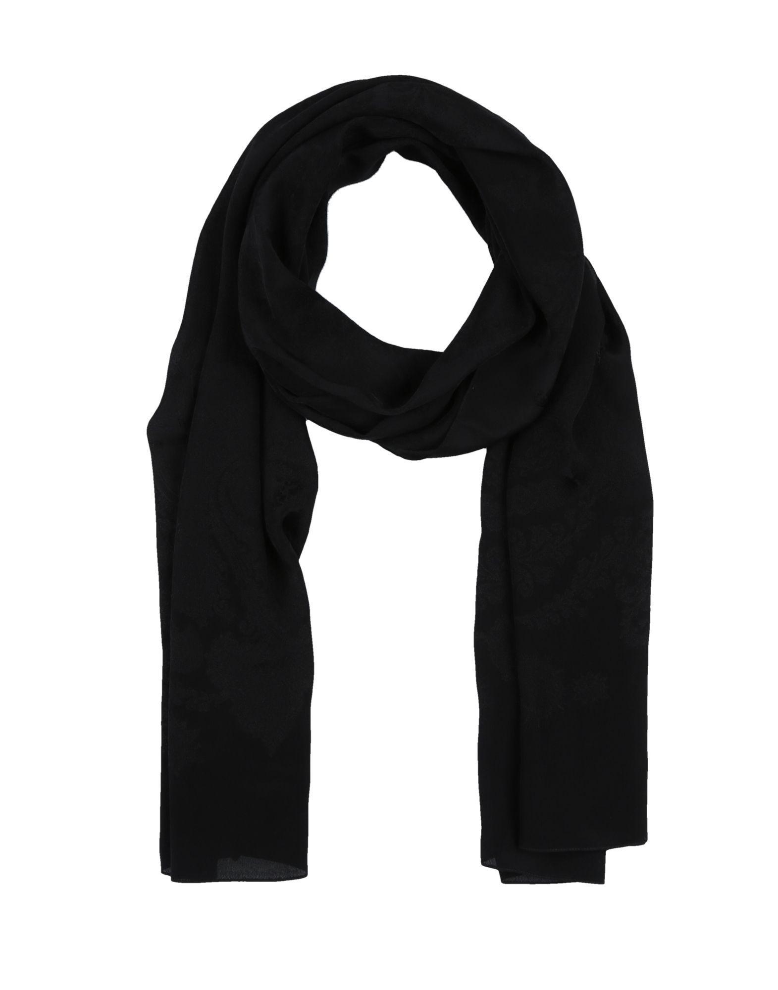 Roberto Cavalli Scarves In Black