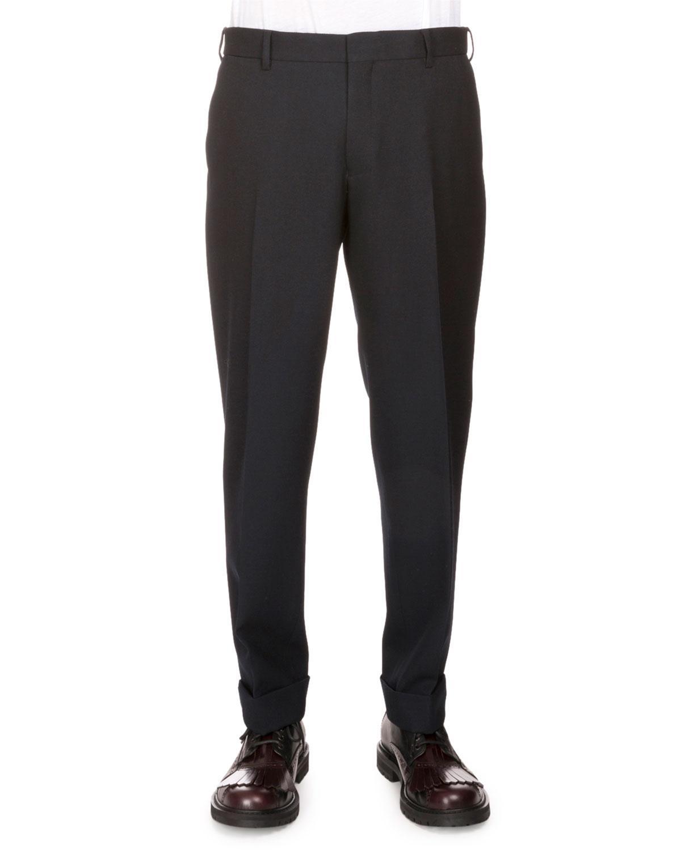 Dries Van Noten Philip Regular-fit Trousers, Black