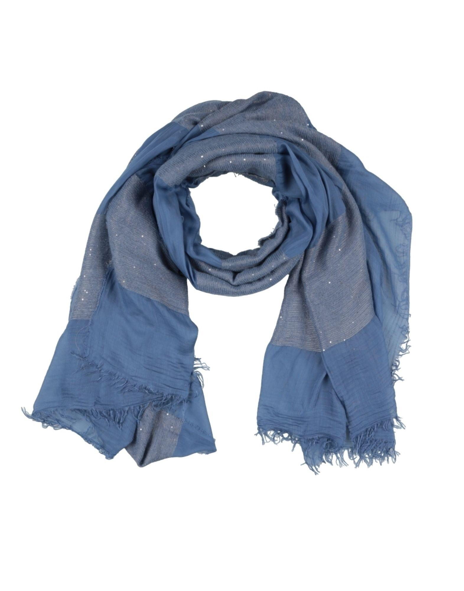 Space Style Concept Scarves In Pastel Blue