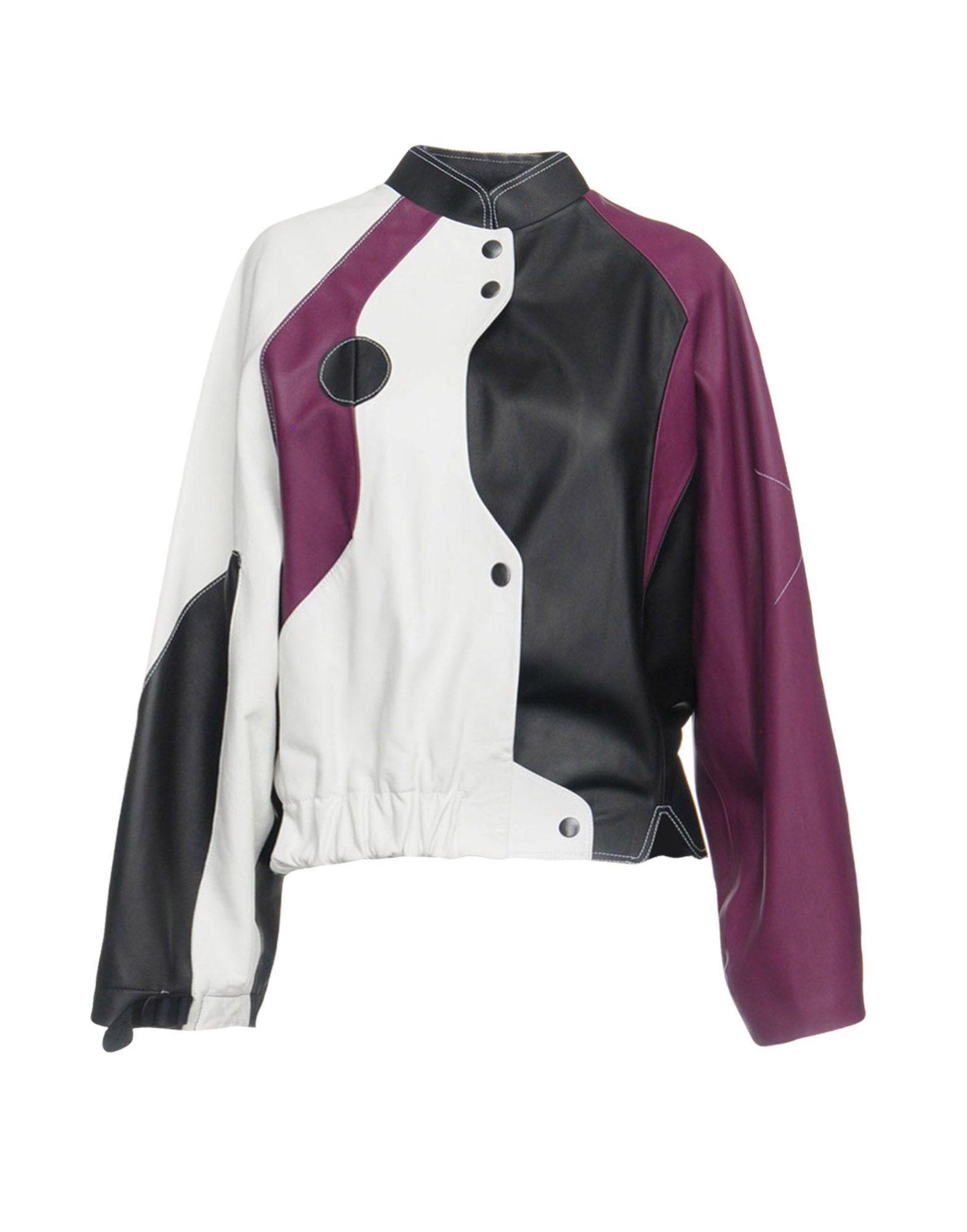 Vejas Leather Jacket In Black