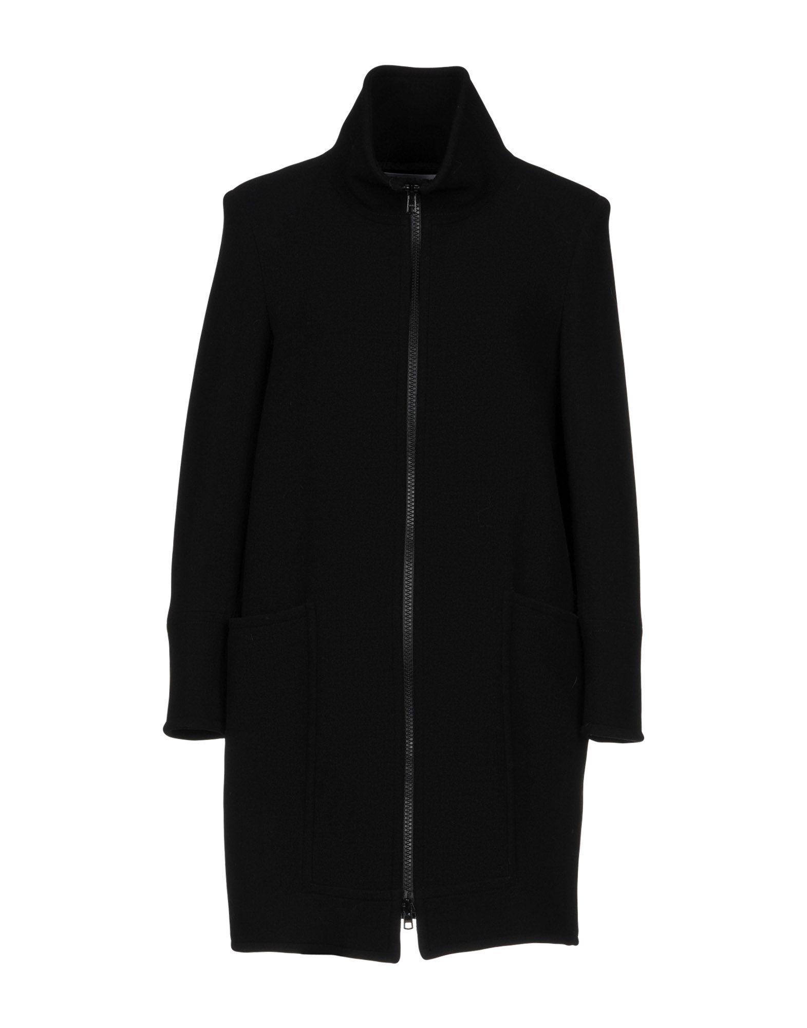 Gianluca Capannolo Coats In Black