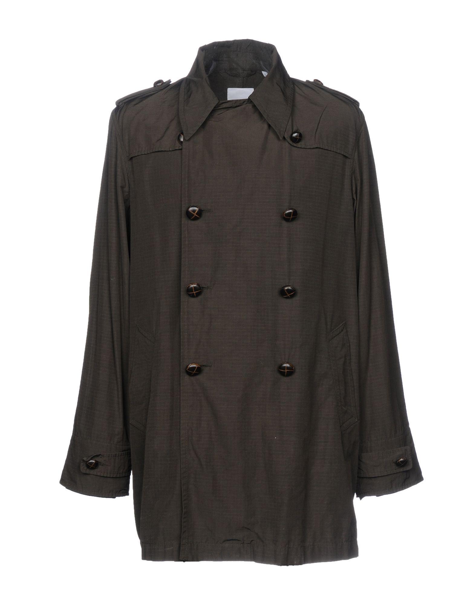 Adidas Originals Overcoats In Black