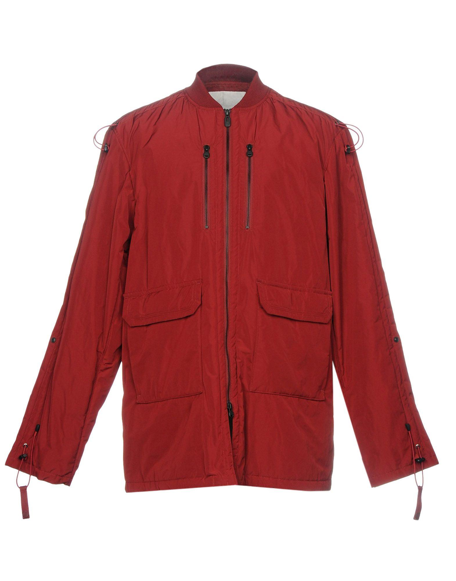 White Mountaineering Full-length Jacket In Maroon
