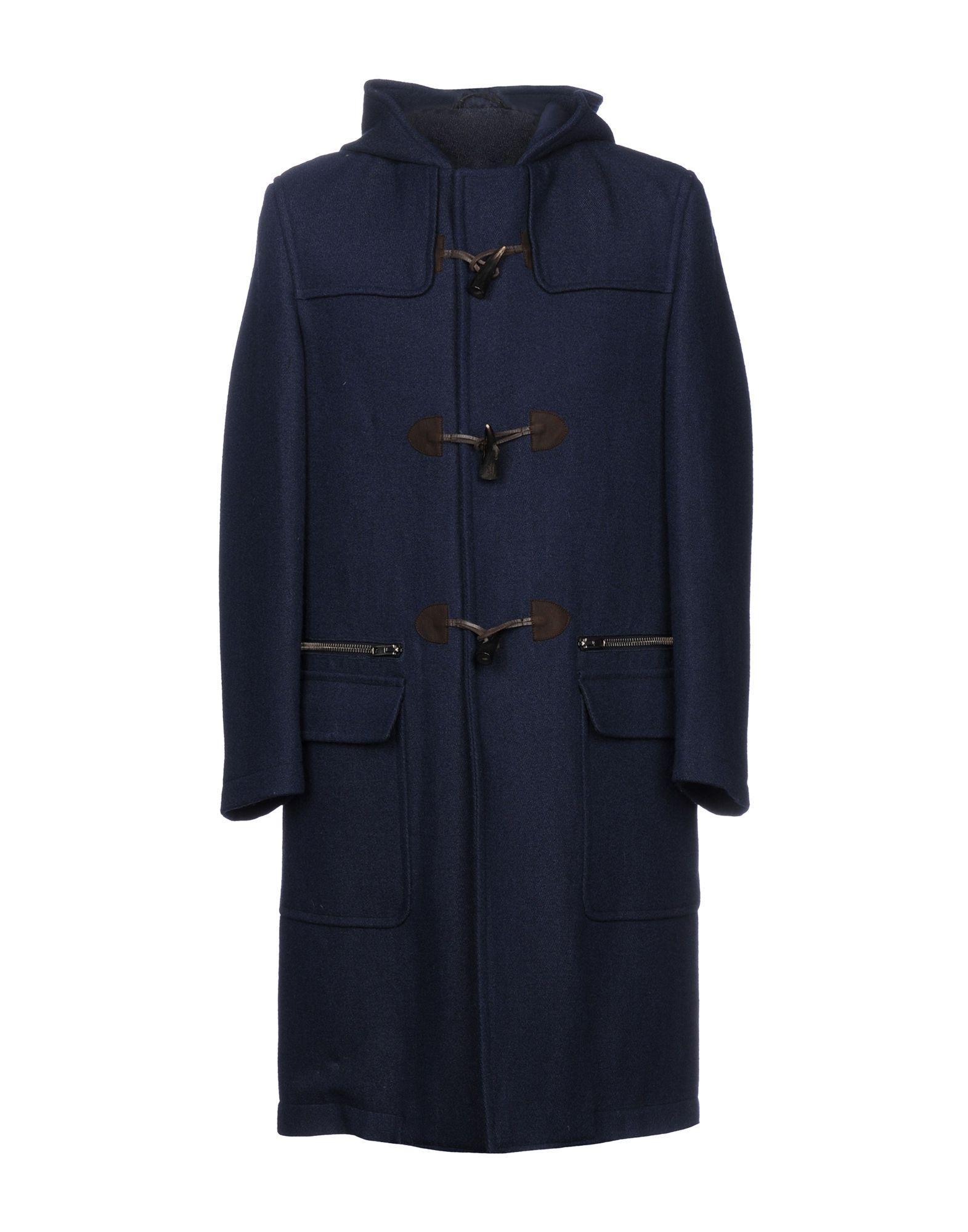 Umit Benan Coat In Dark Blue
