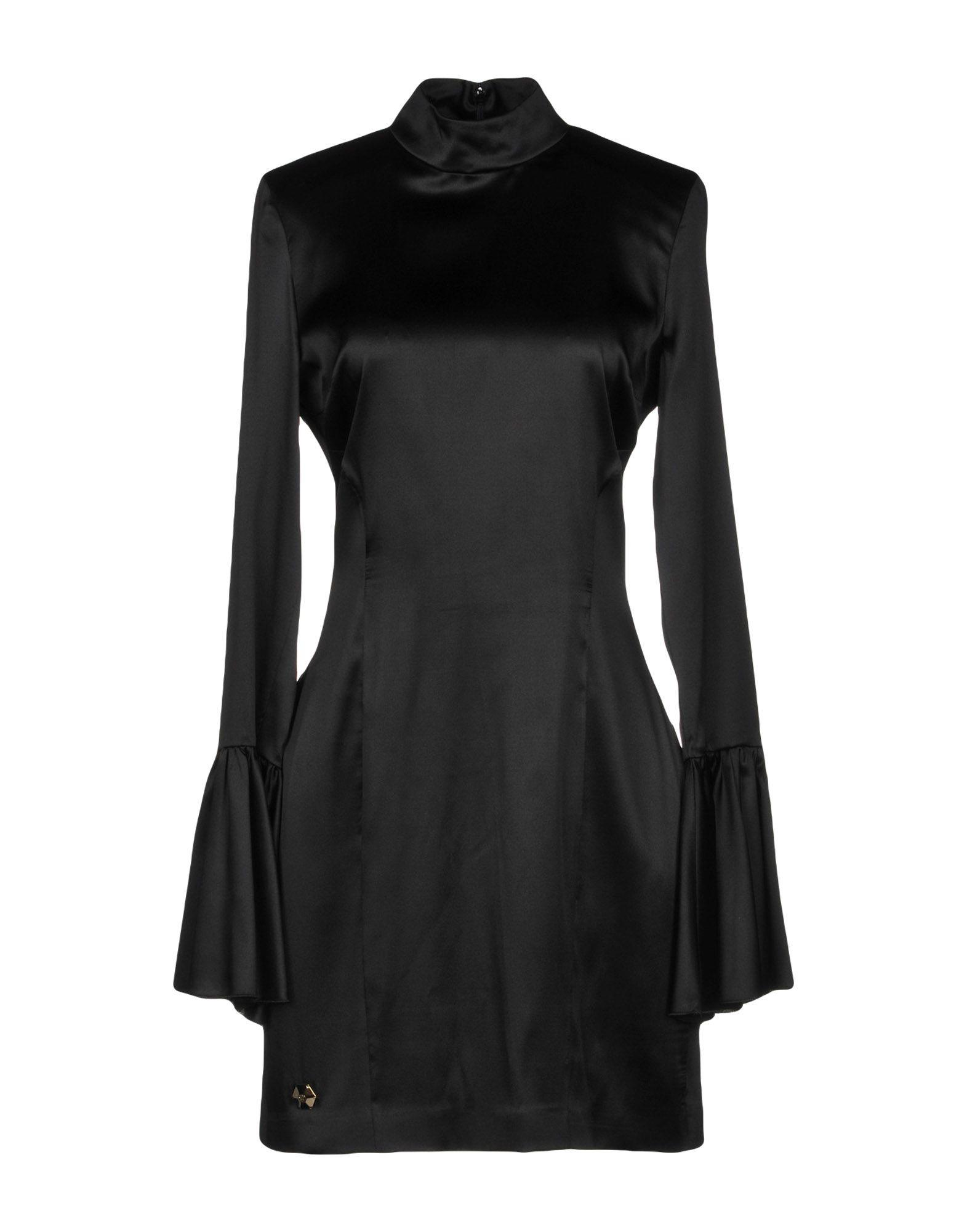 Philipp Plein Short Dress In Black