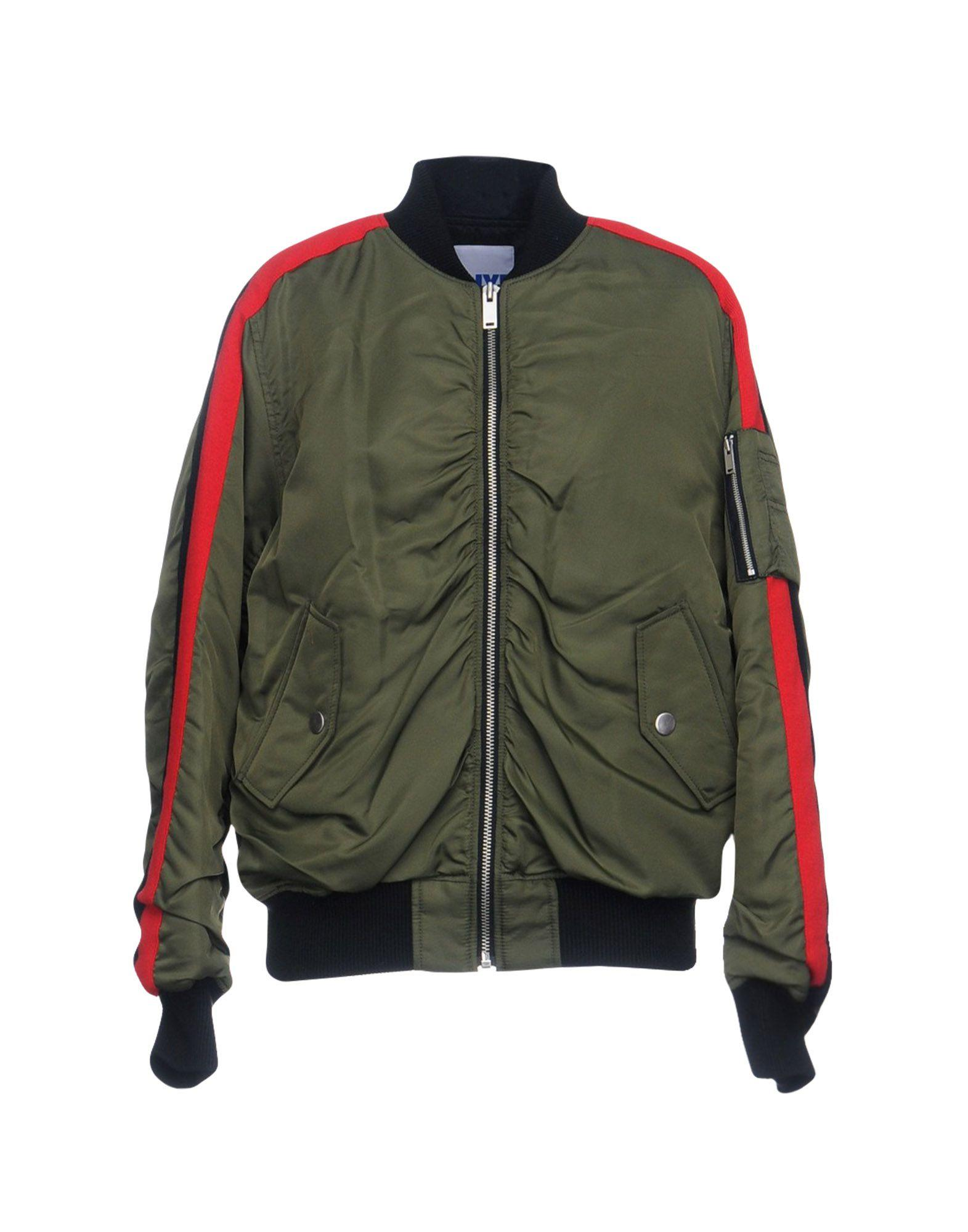 Sjyp Jackets In Military Green