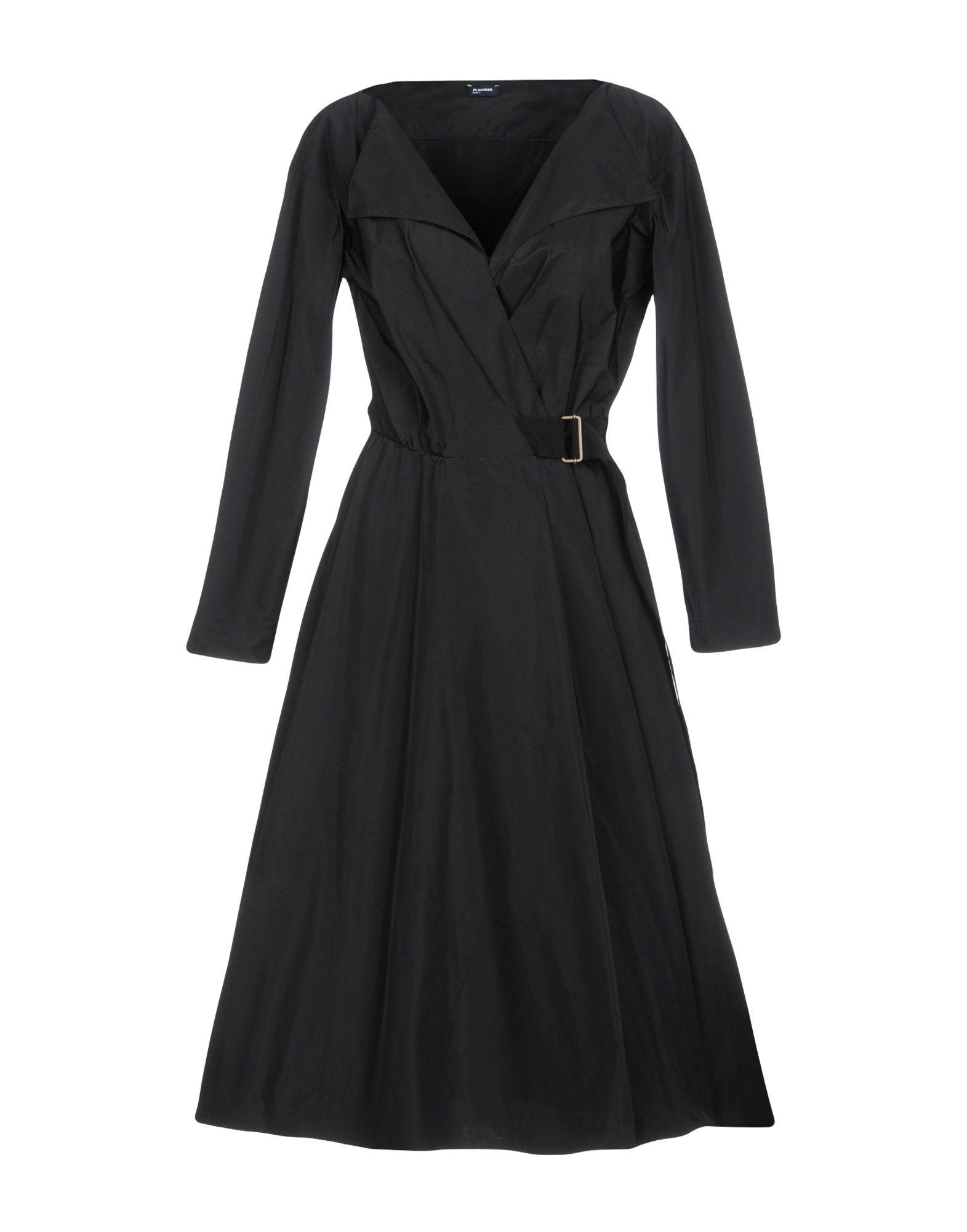 Jil Sander Knee-length Dresses In Black