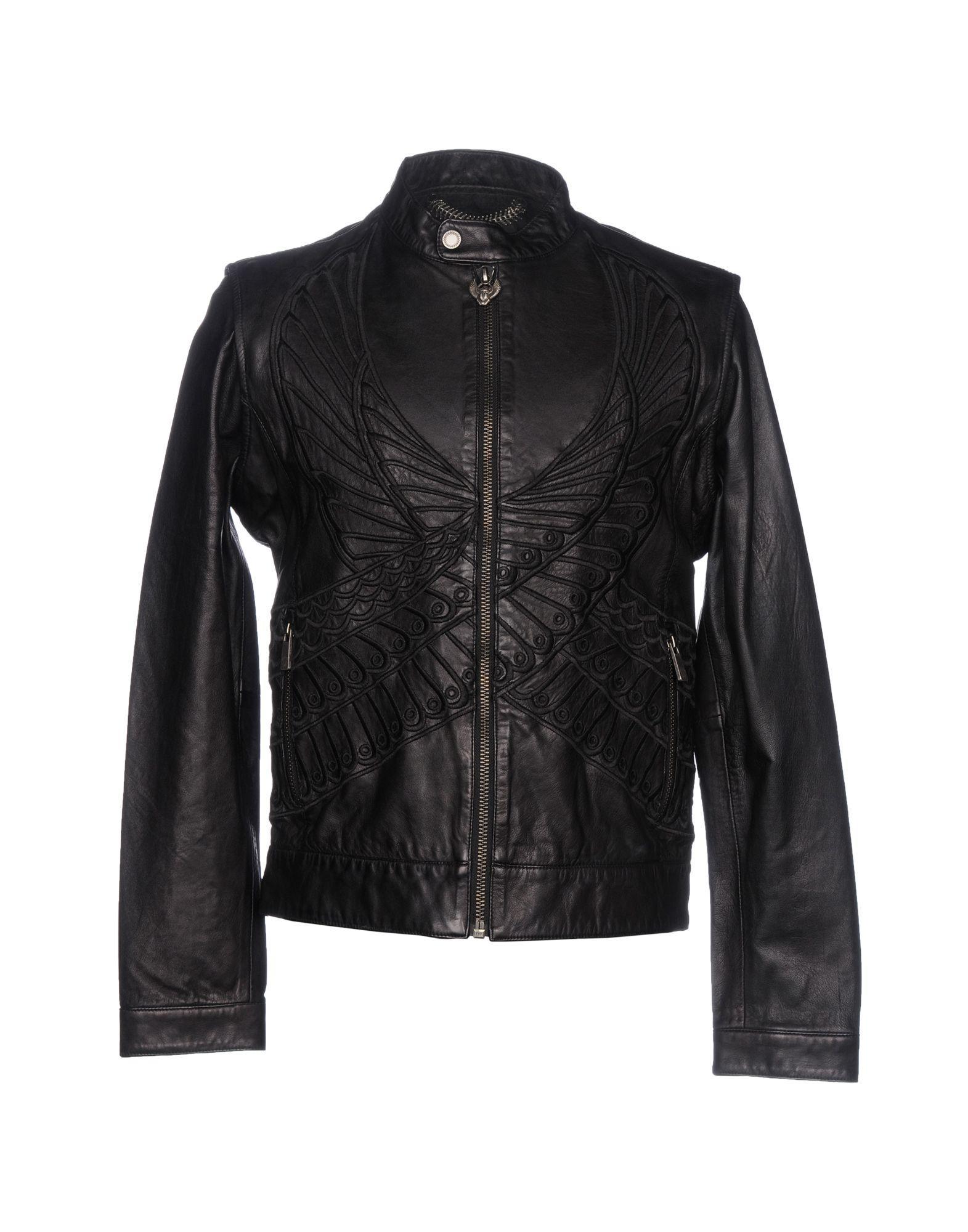 Frankie Morello Jackets In Black