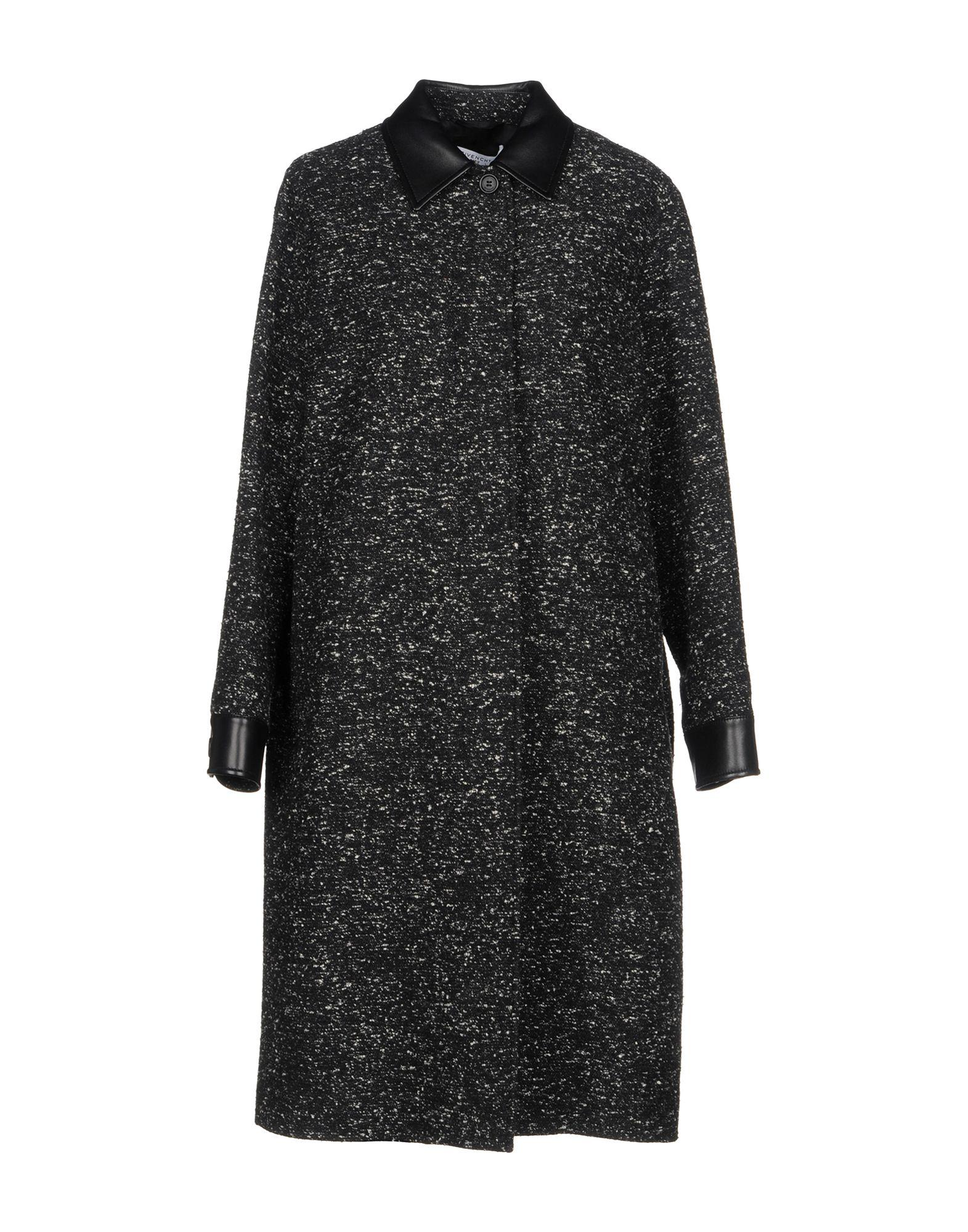 Givenchy Coats In Black
