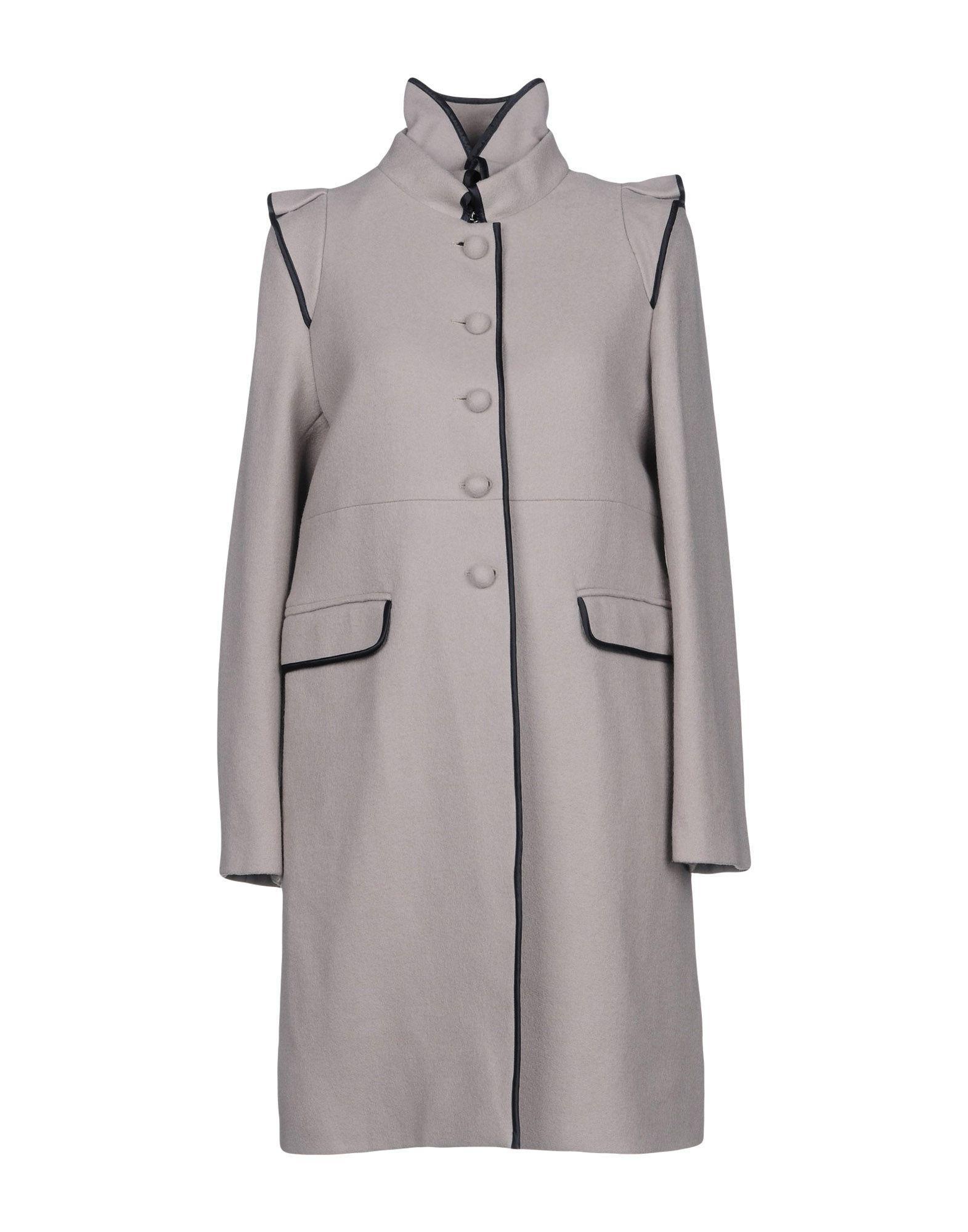 Valentino Coat In Light Grey