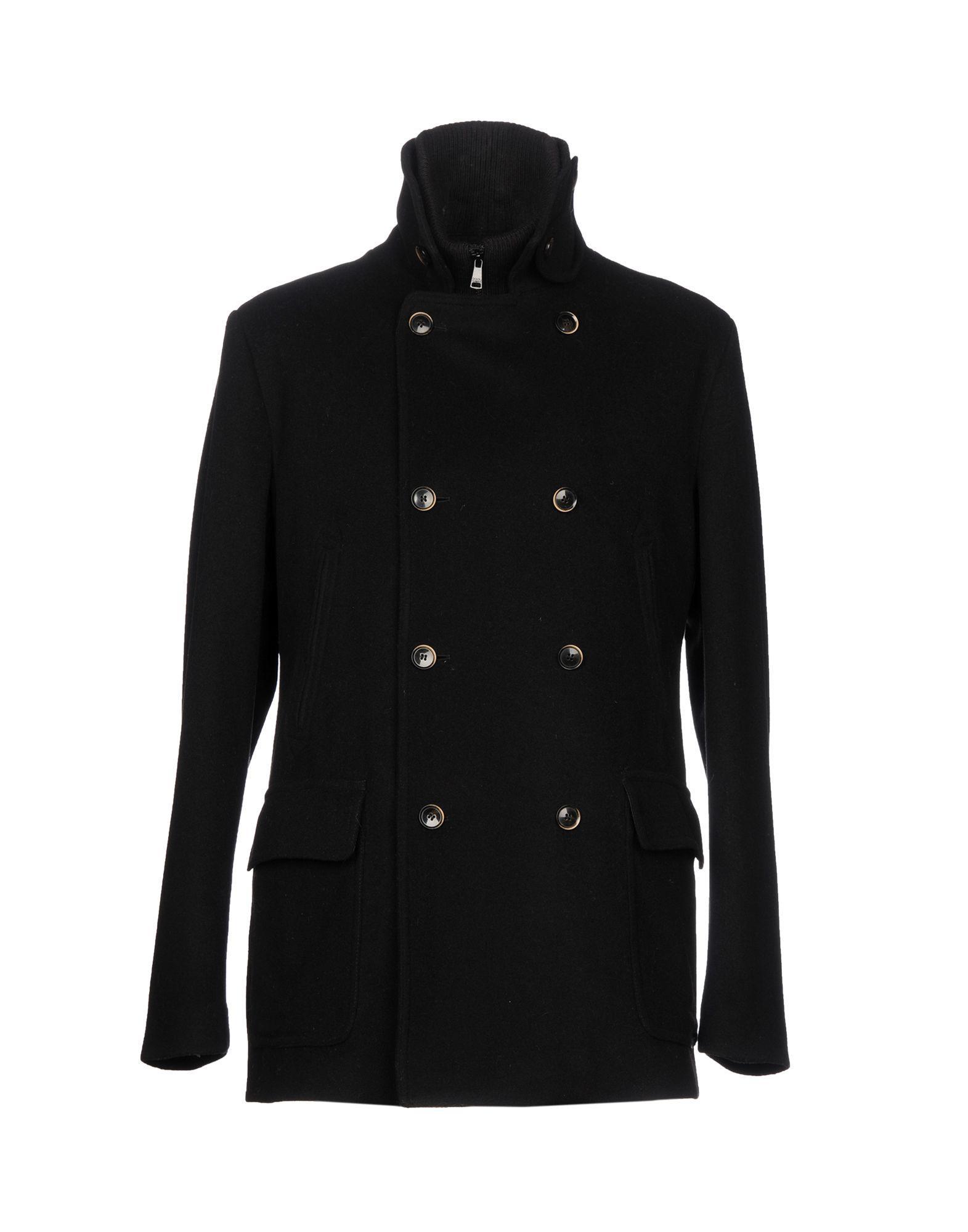 Dolce & Gabbana Coats In Black
