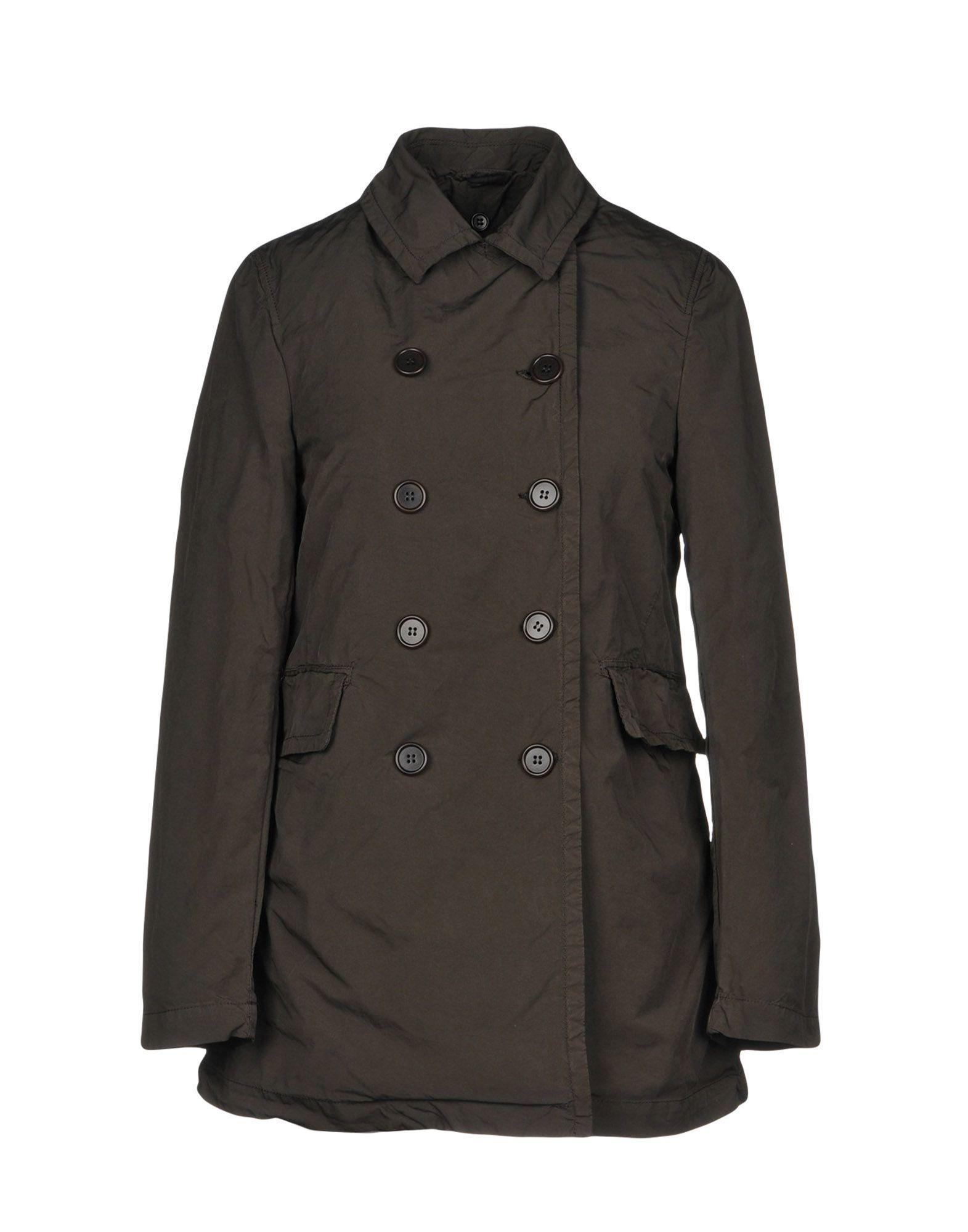 Aspesi Full-length Jacket In Military Green