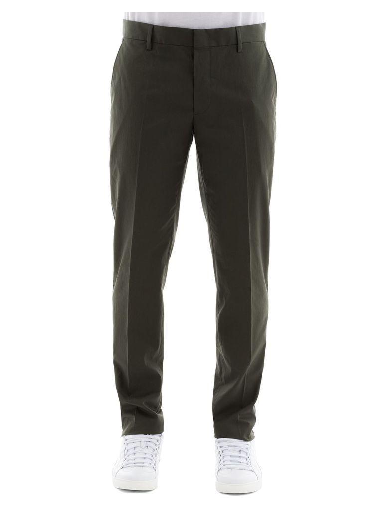 Lanvin Green Cotton Pants