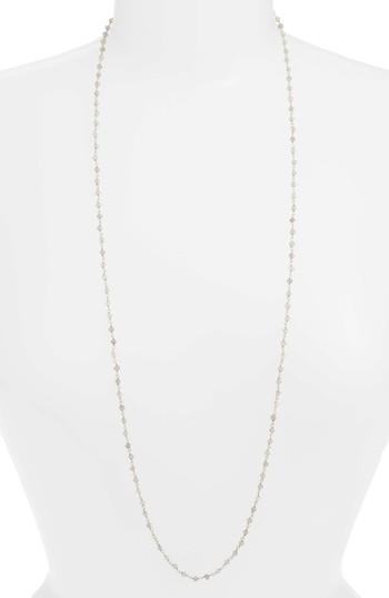 Argento Vivo Beaded Wrap Necklace In Silver/ Labradorite