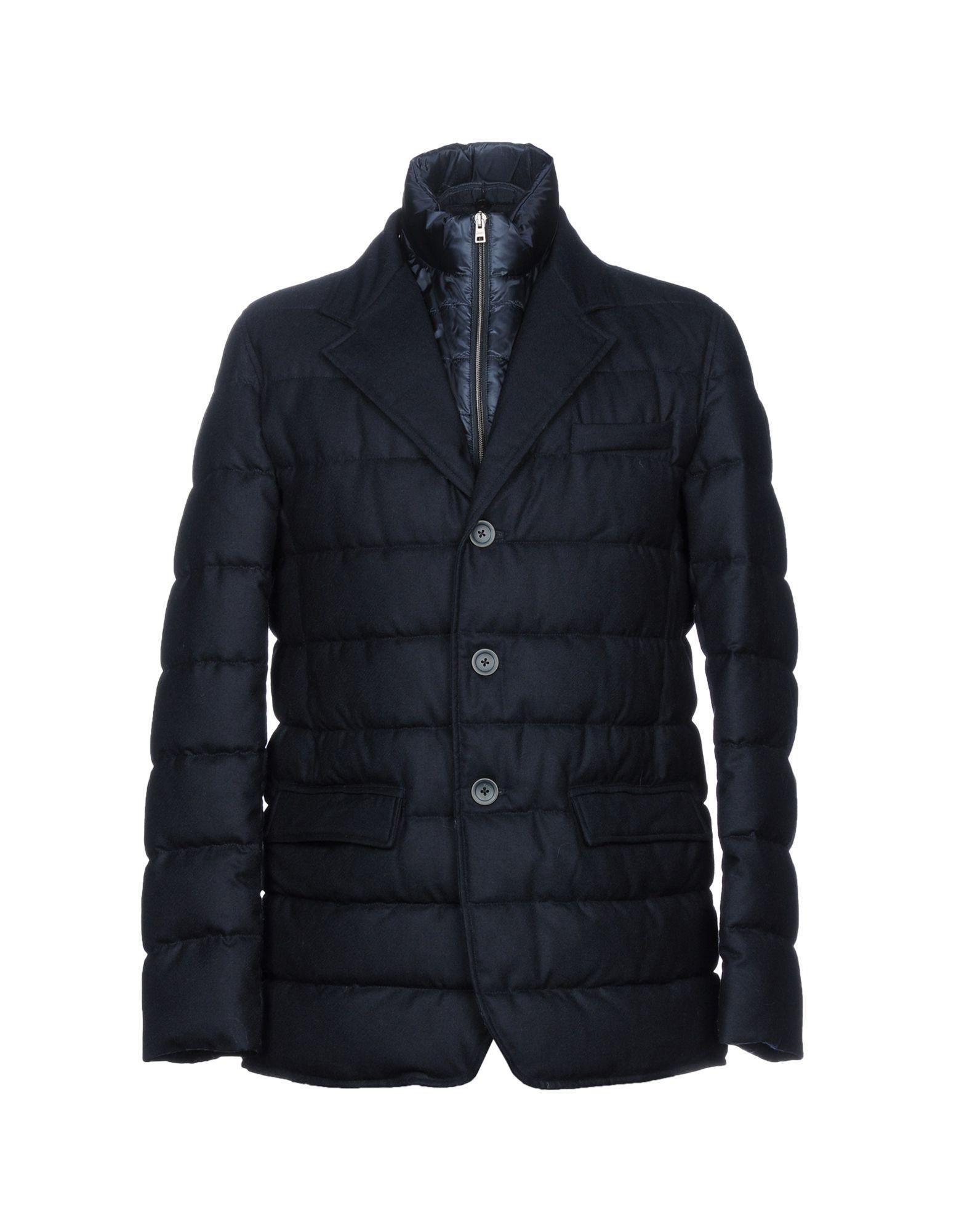 Herno Jackets In Dark Blue