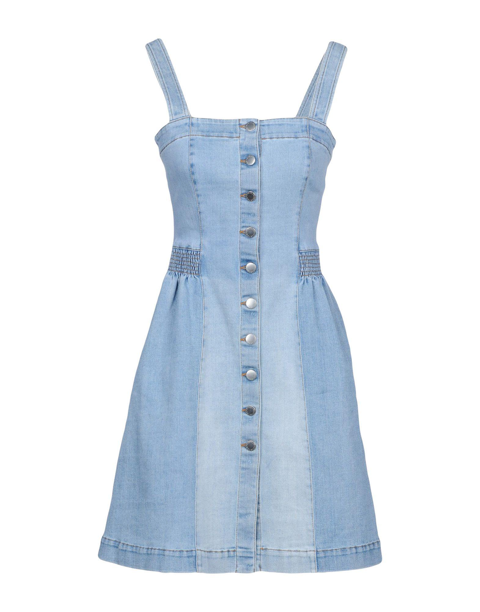 Stella Mccartney Denim Dress In Blue