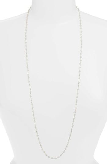 Argento Vivo Beaded Wrap Necklace In Silver/ Moonstone