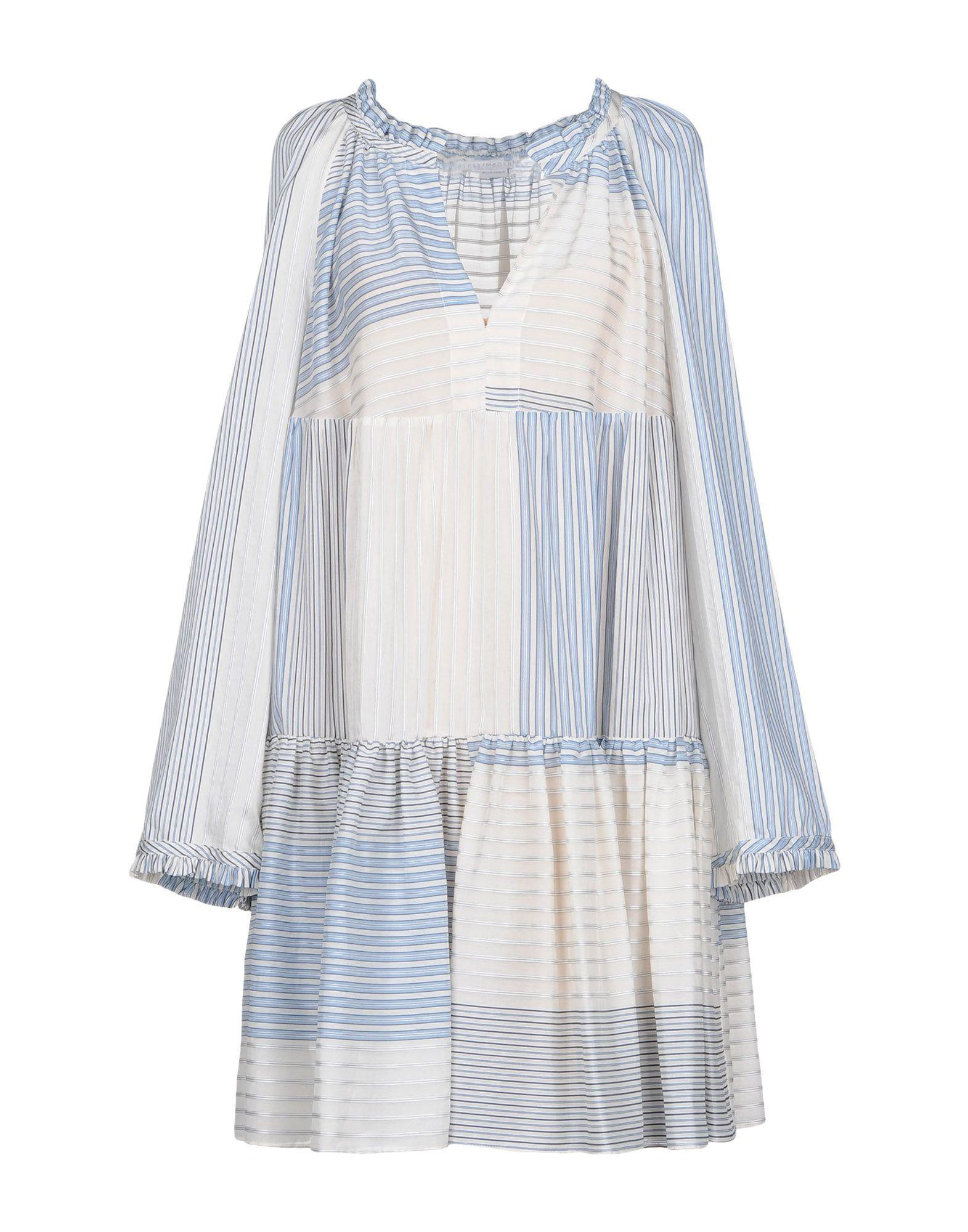 Stella Mccartney Short Dress In Ivory