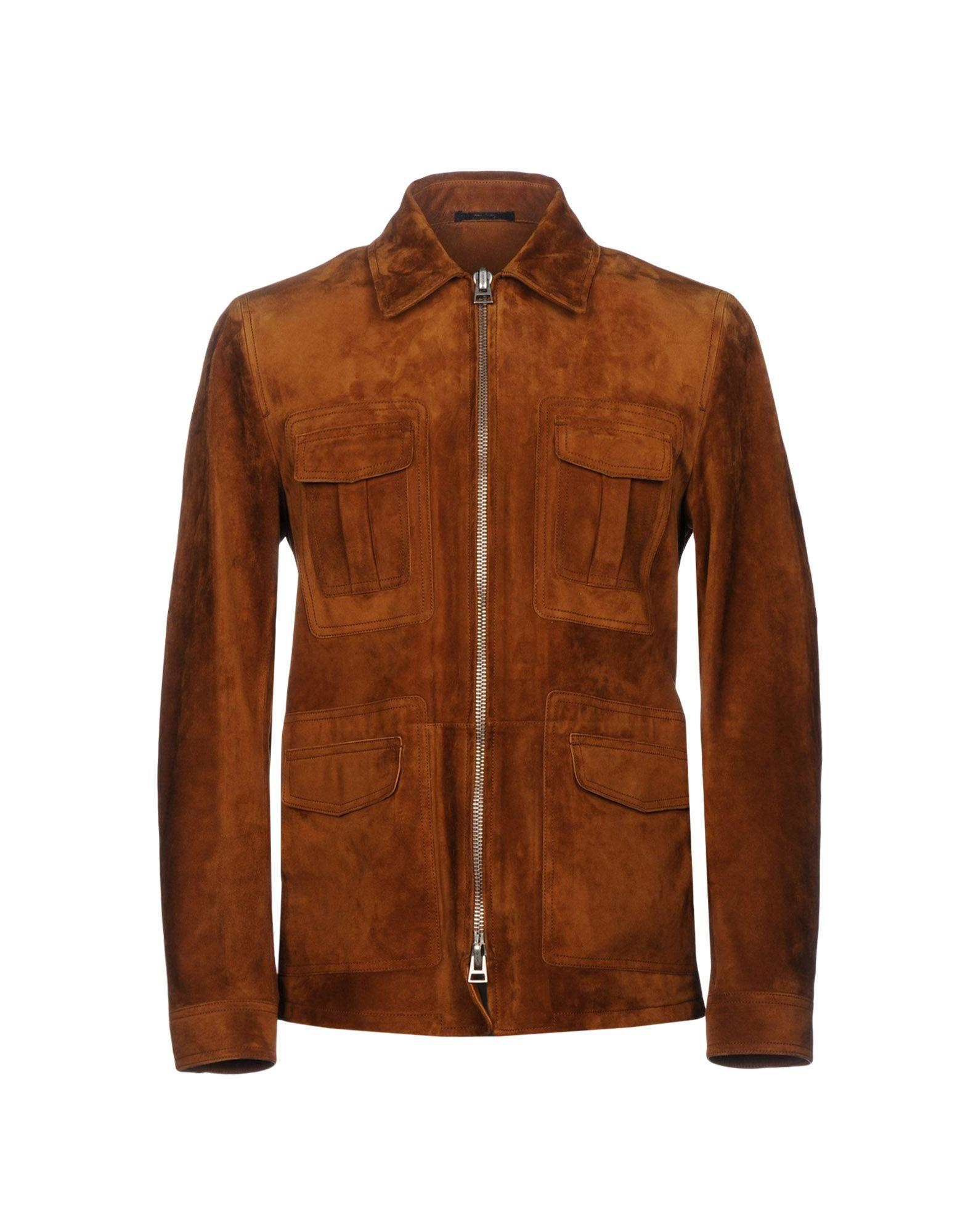 Tom Ford Jackets In Brown