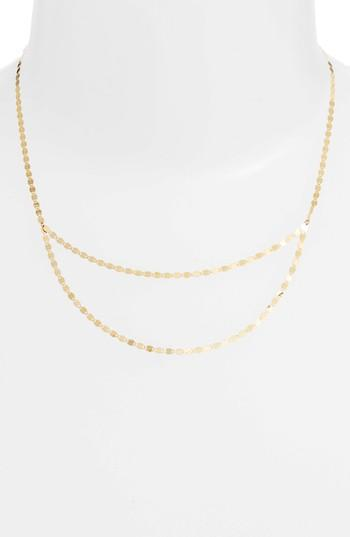 Lana Jewelry Y-necklace In Yellow Gold