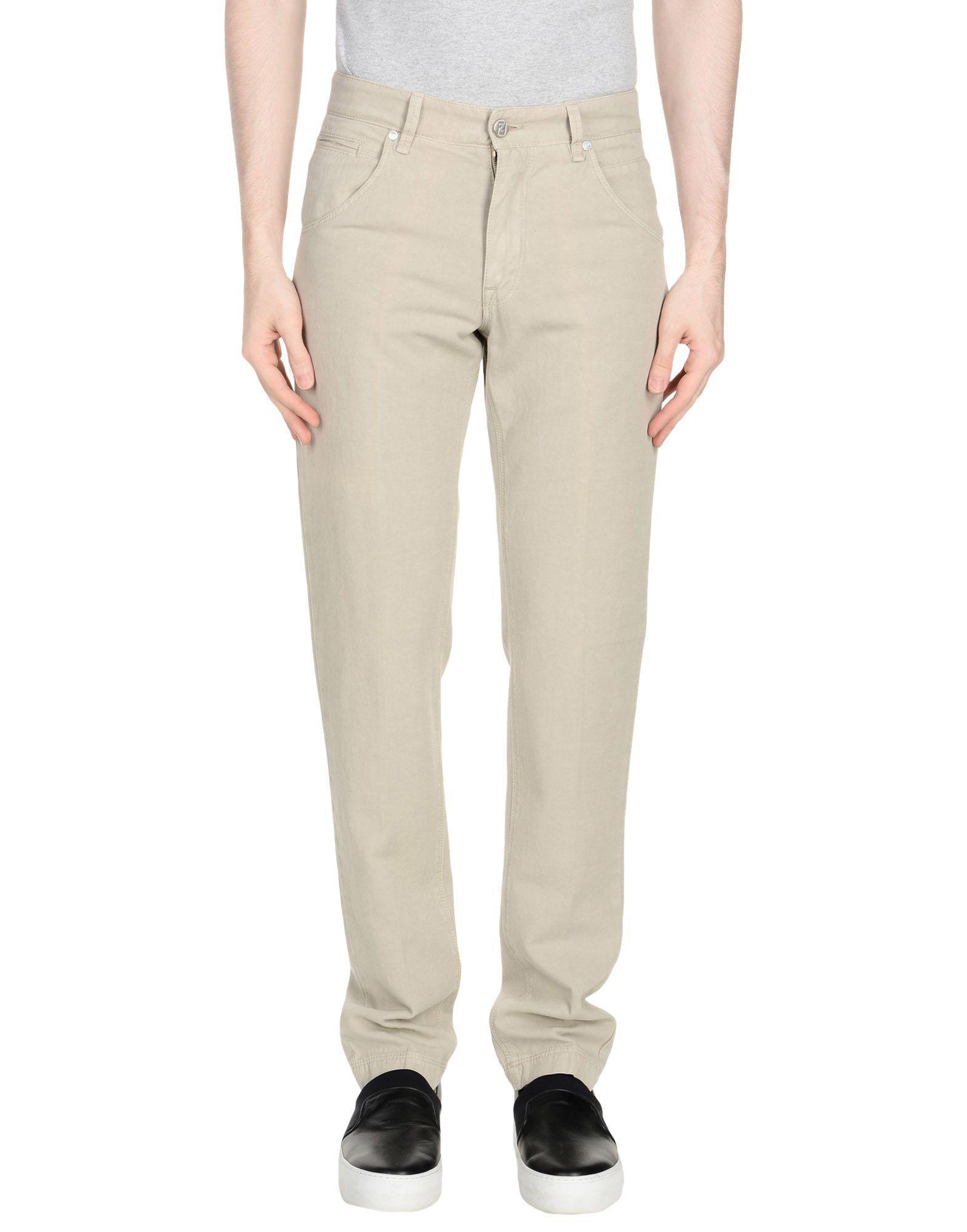 Fendi Casual Pants In Grey