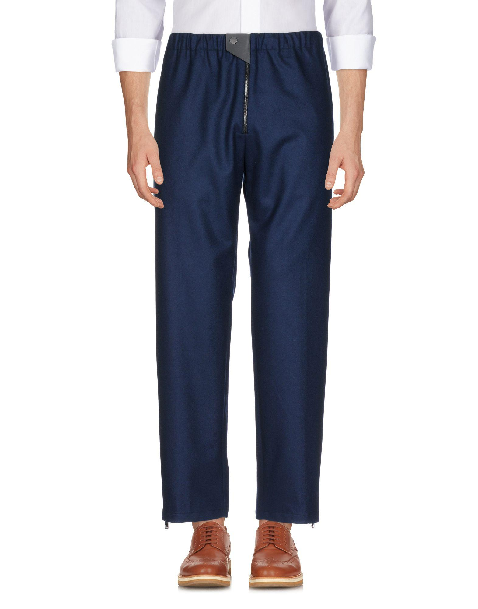 Balenciaga Casual Pants In Dark Blue