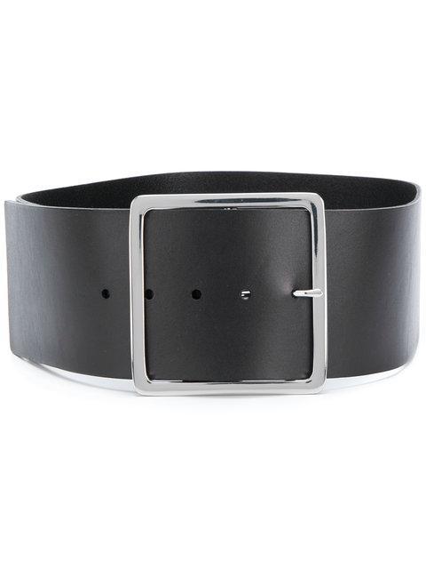 Frame Wide Belt - Black