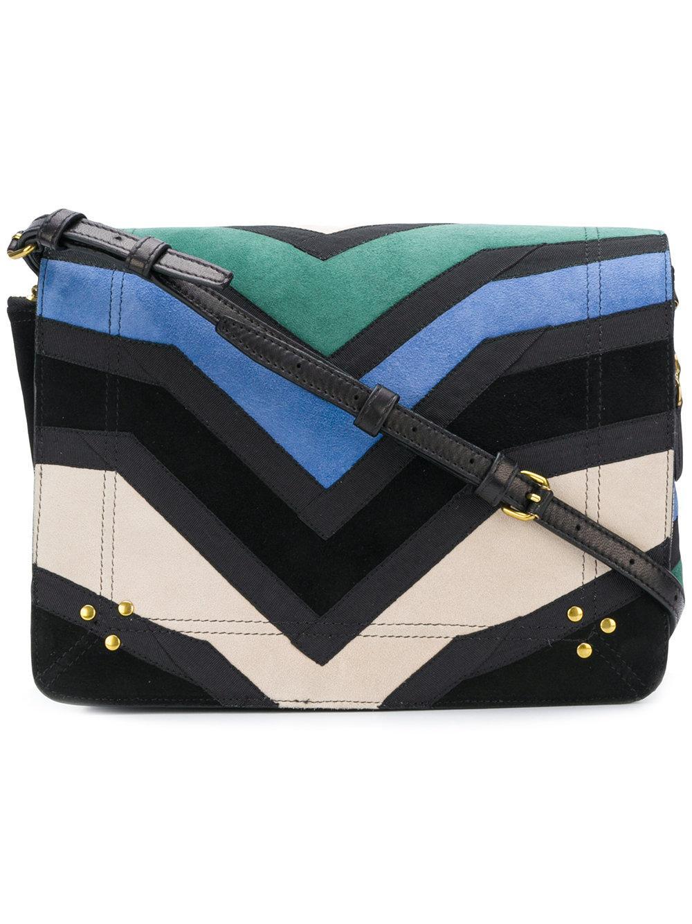 JÉrÔme Dreyfuss Zigzag Shoulder Bag