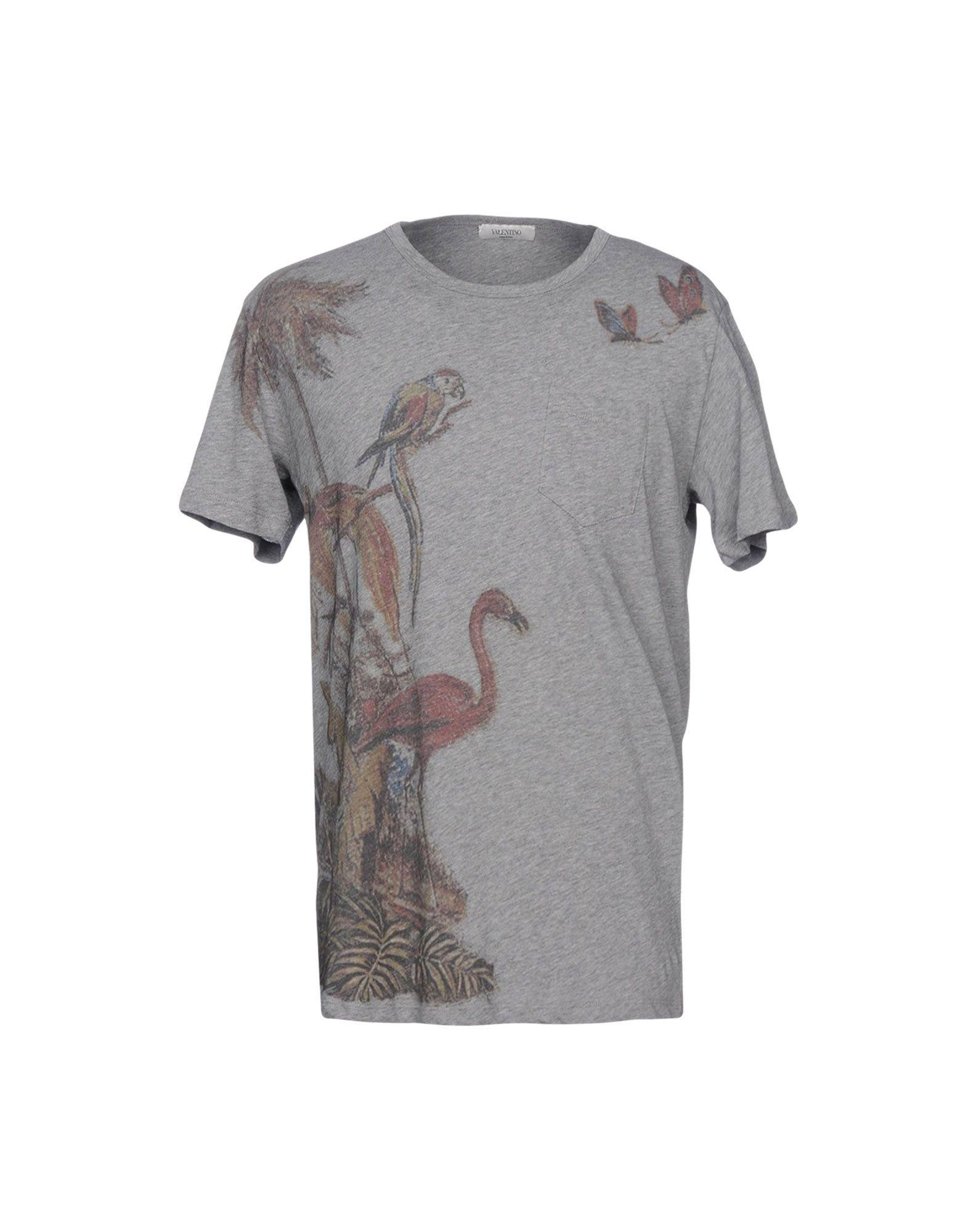 Valentino T-shirts In Grey