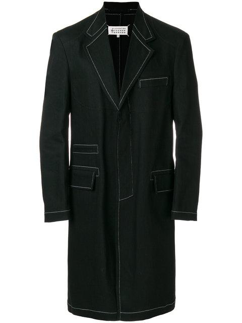 Maison Margiela Single-breasted Button Jacket In Black