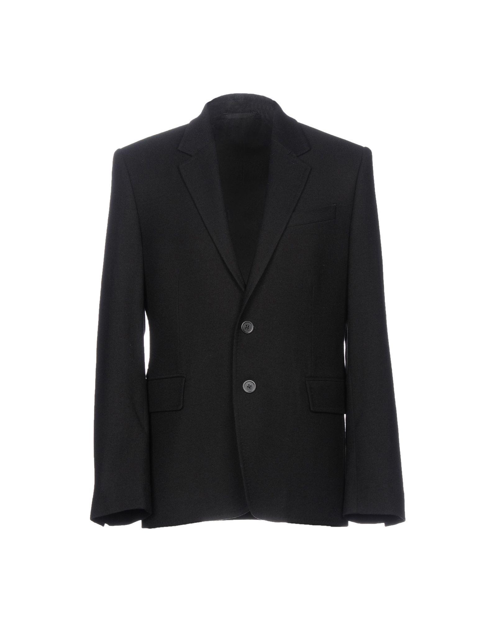 Ann Demeulemeester Blazers In Black
