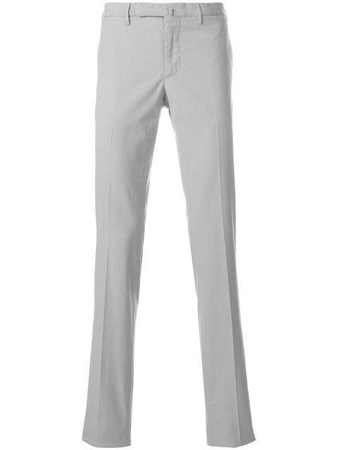 Incotex Slim Fit Trousers - Grey