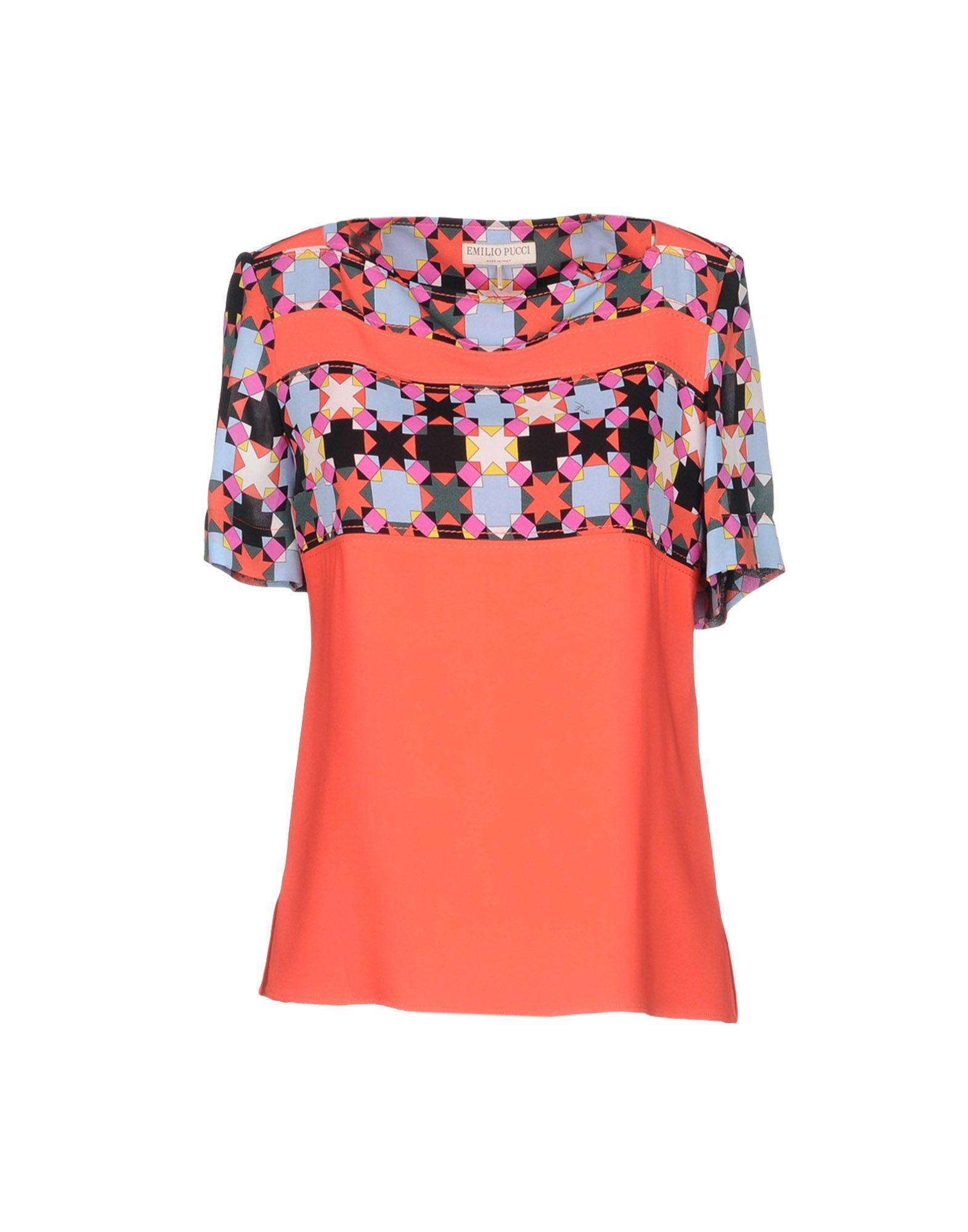 Emilio Pucci Blouse In Red
