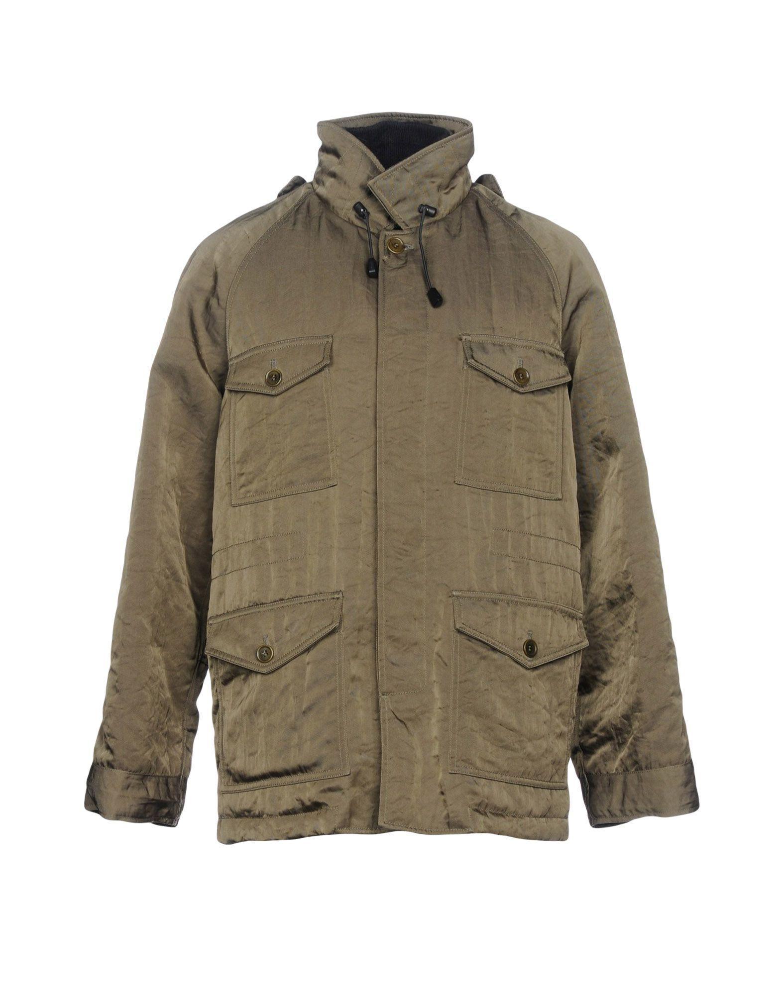 Aspesi Down Jacket In Military Green