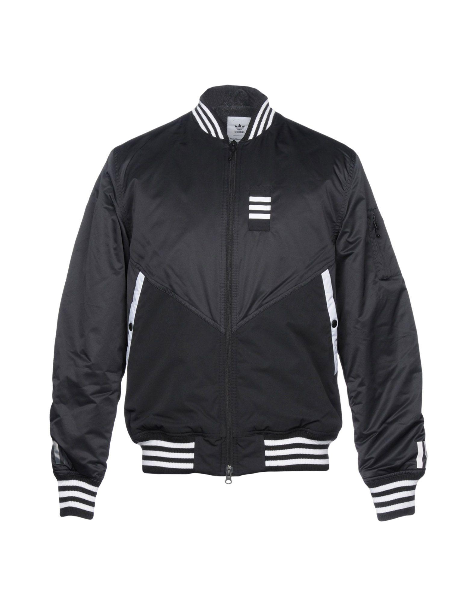 Adidas Originals Jackets In Black