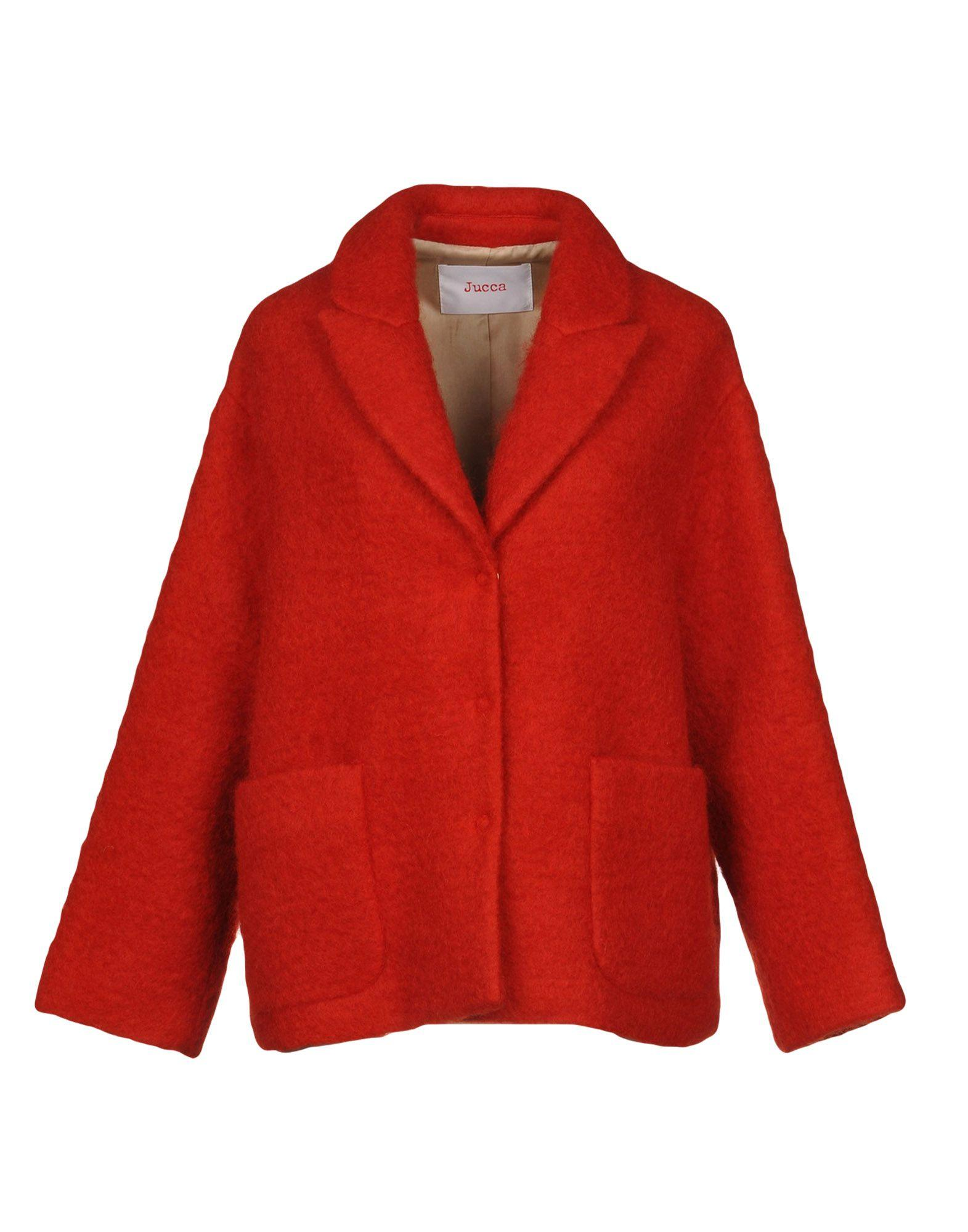 Jucca Coats In Red