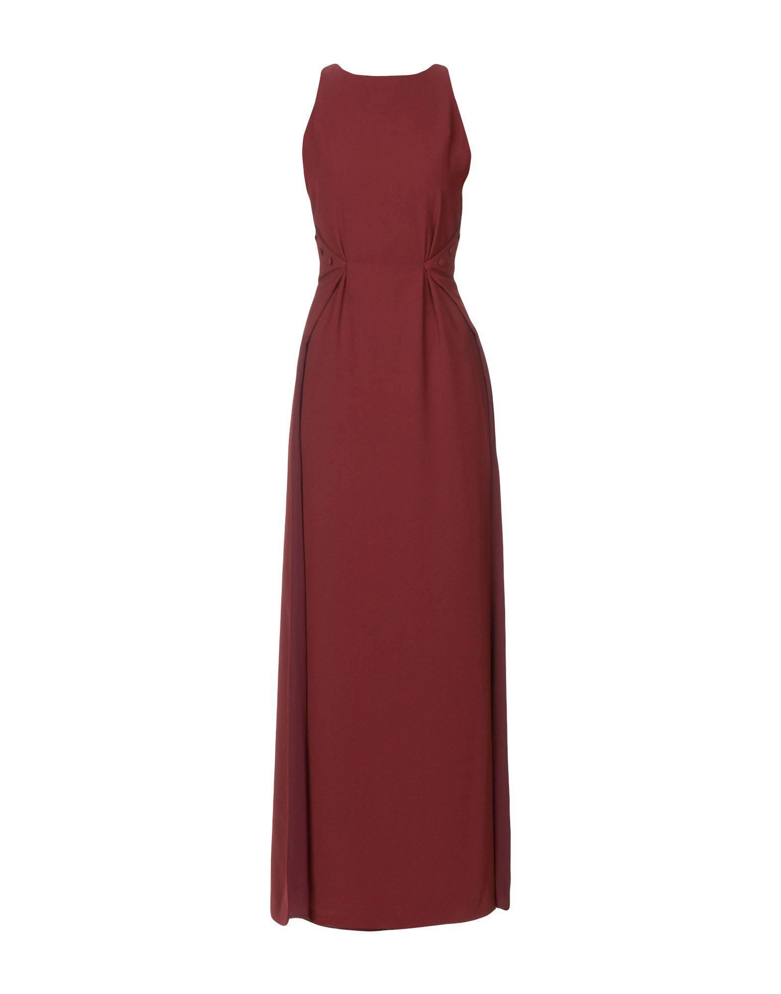 Space Style Concept Long Dresses In Maroon