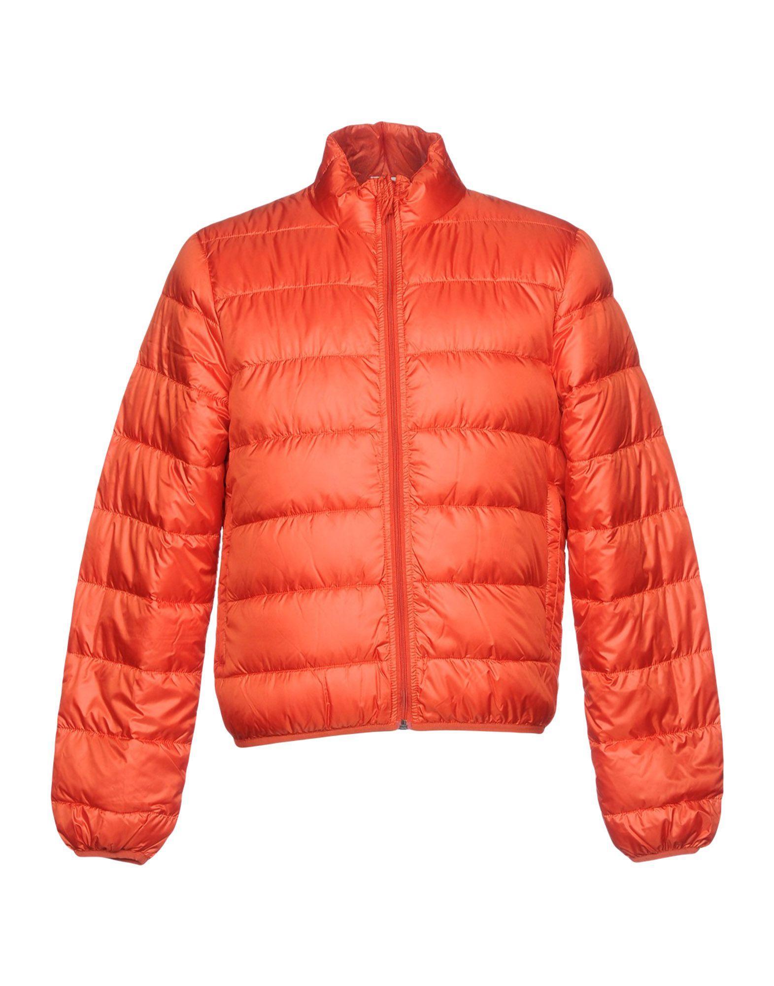 Aspesi Down Jackets In Rust