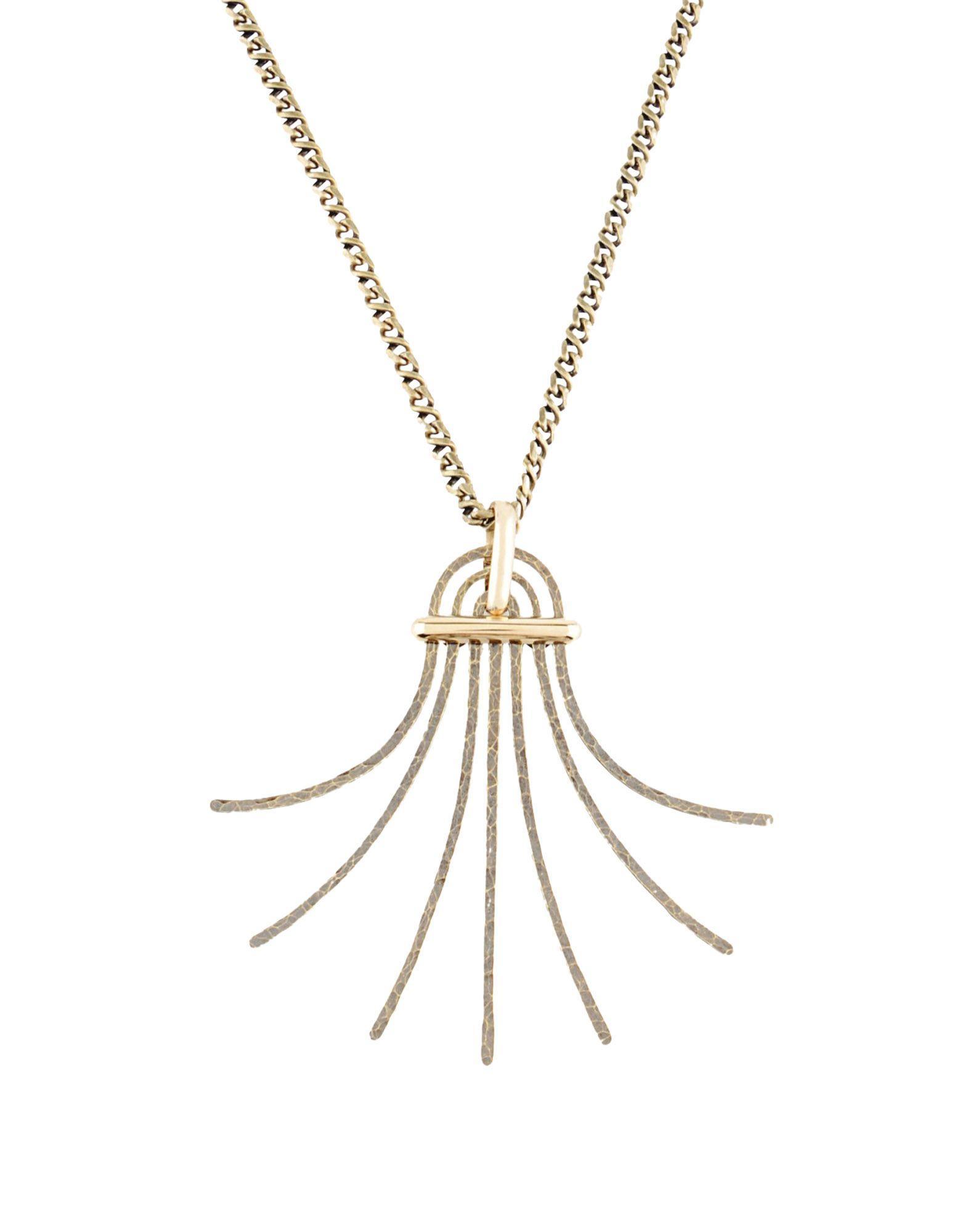 Lanvin Necklace In Bronze