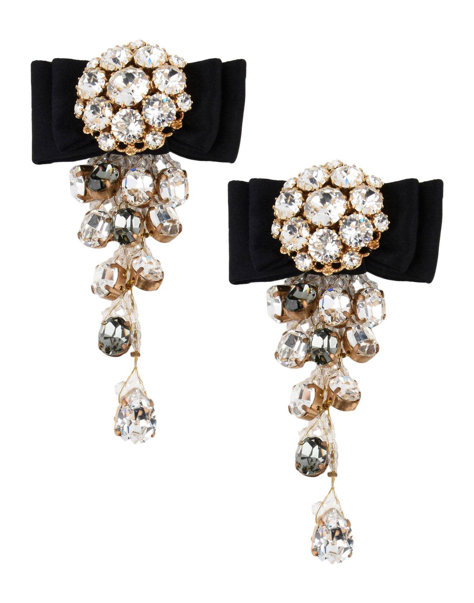 Dolce & Gabbana Earrings In White