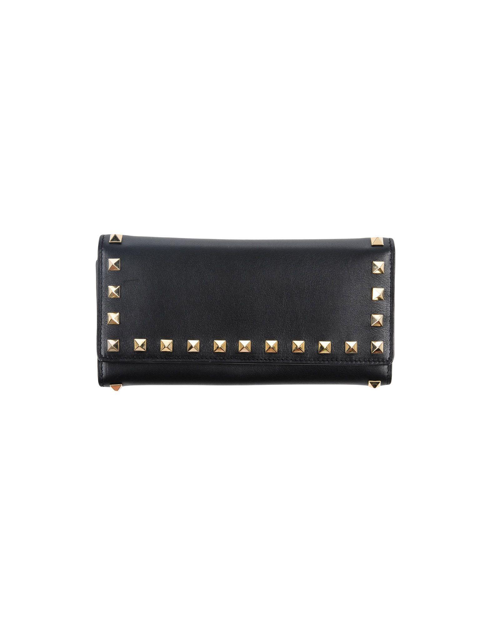 Valentino Wallets In Black
