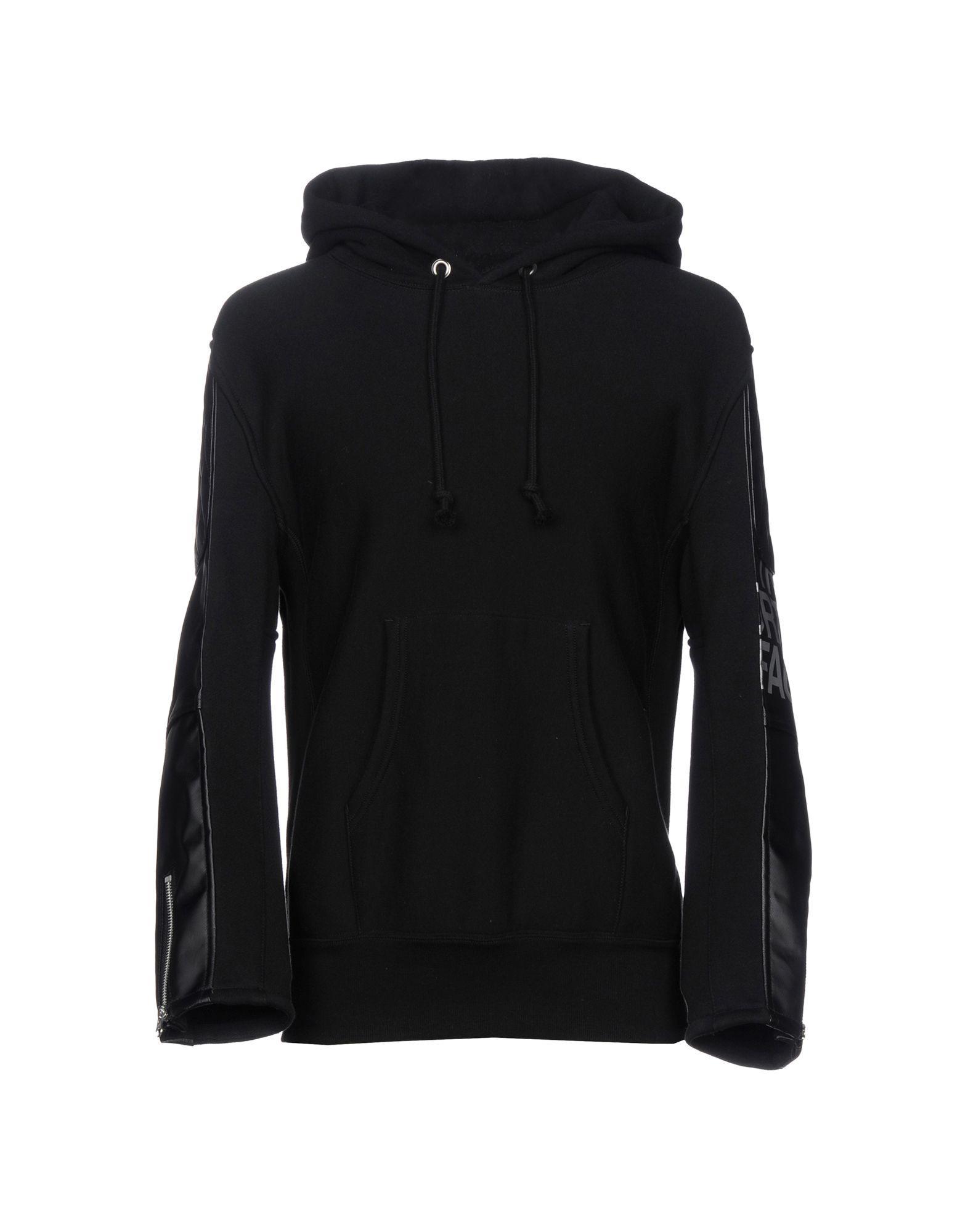 Junya Watanabe Hooded Sweatshirt In Black